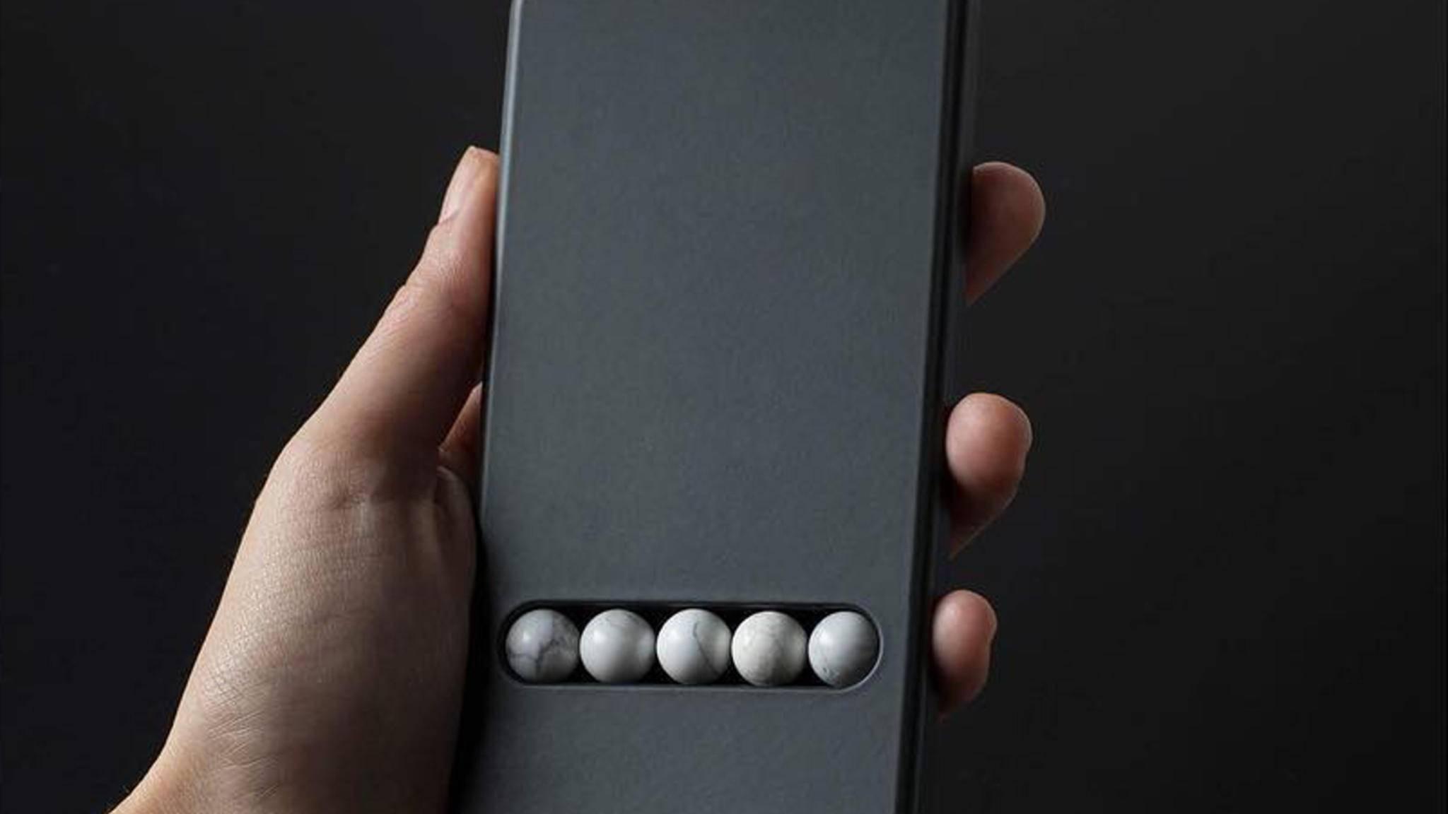 """Das Substitute Phone """"simuliert"""" Smartphone-Gesten."""