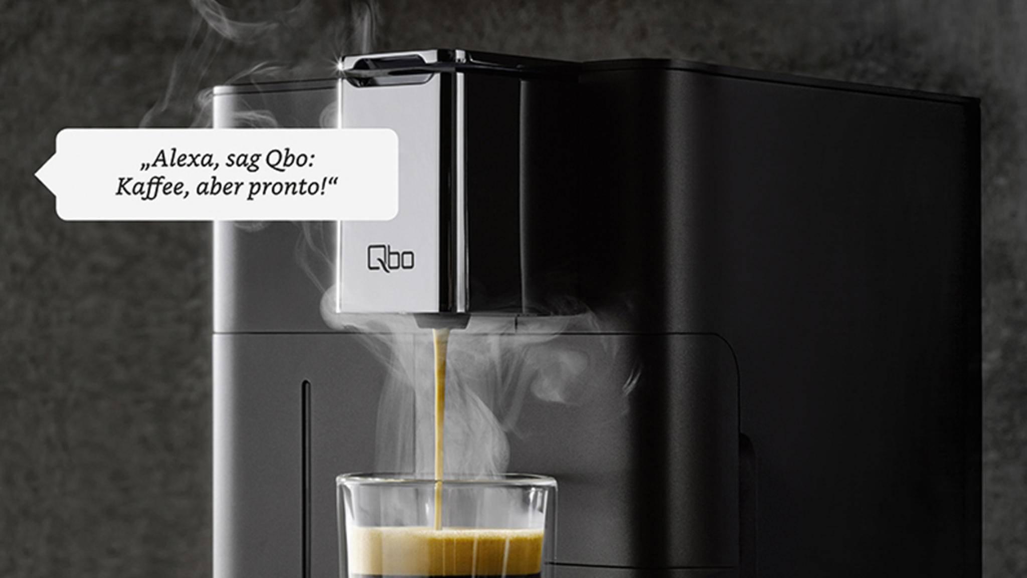 Tchibo Qbo Kaffeemaschine mit Alexa-Skill