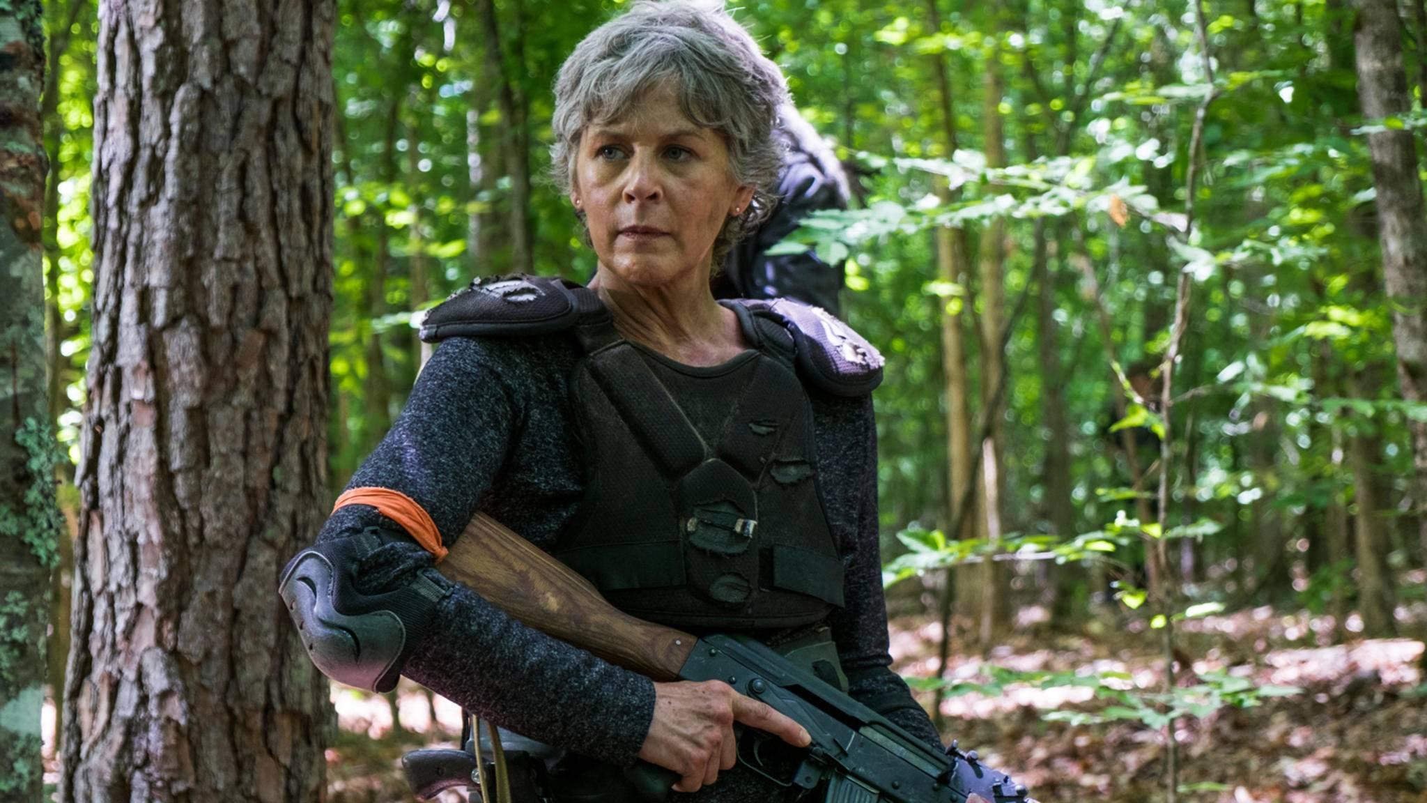 Carol macht sich regelmäßig auch ihren scharfen Verstand zunutze, wenn es darum geht, Feinde zu übertrumpfen.