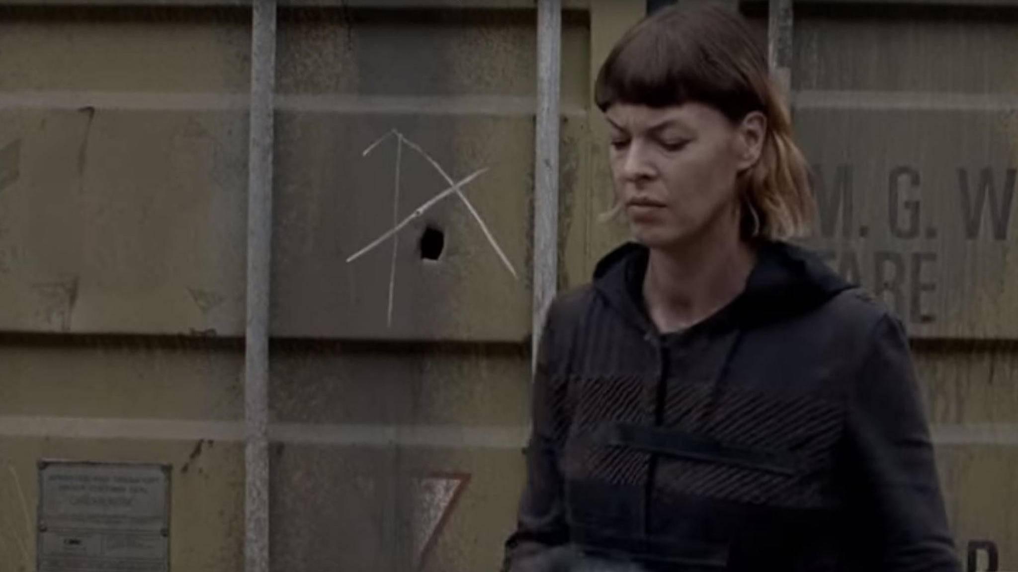 Was hat es mit dem A in Episode 6 von Staffel 8 auf sich?