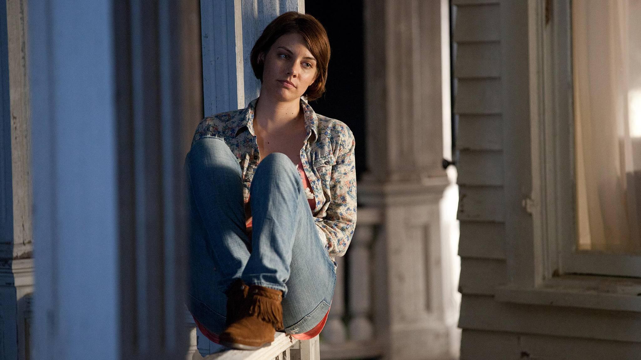 """Ihre spätere Rolle in der Zombieapokalypse hätte sich """"The Walking Dead""""-Charakter Maggie wohl nie erträumen lassen."""