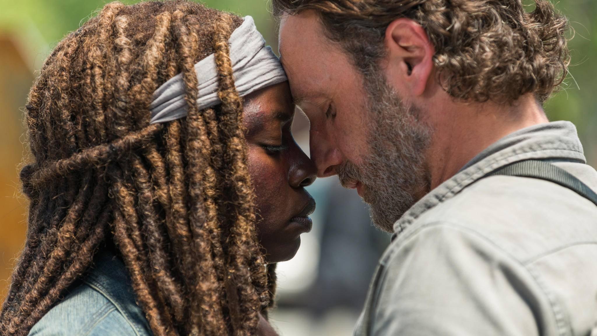 Auch die Liebe zwischen Rick und Michonne: War etwa alles nur ein Traum? Eine furchtbare Vorstellung.