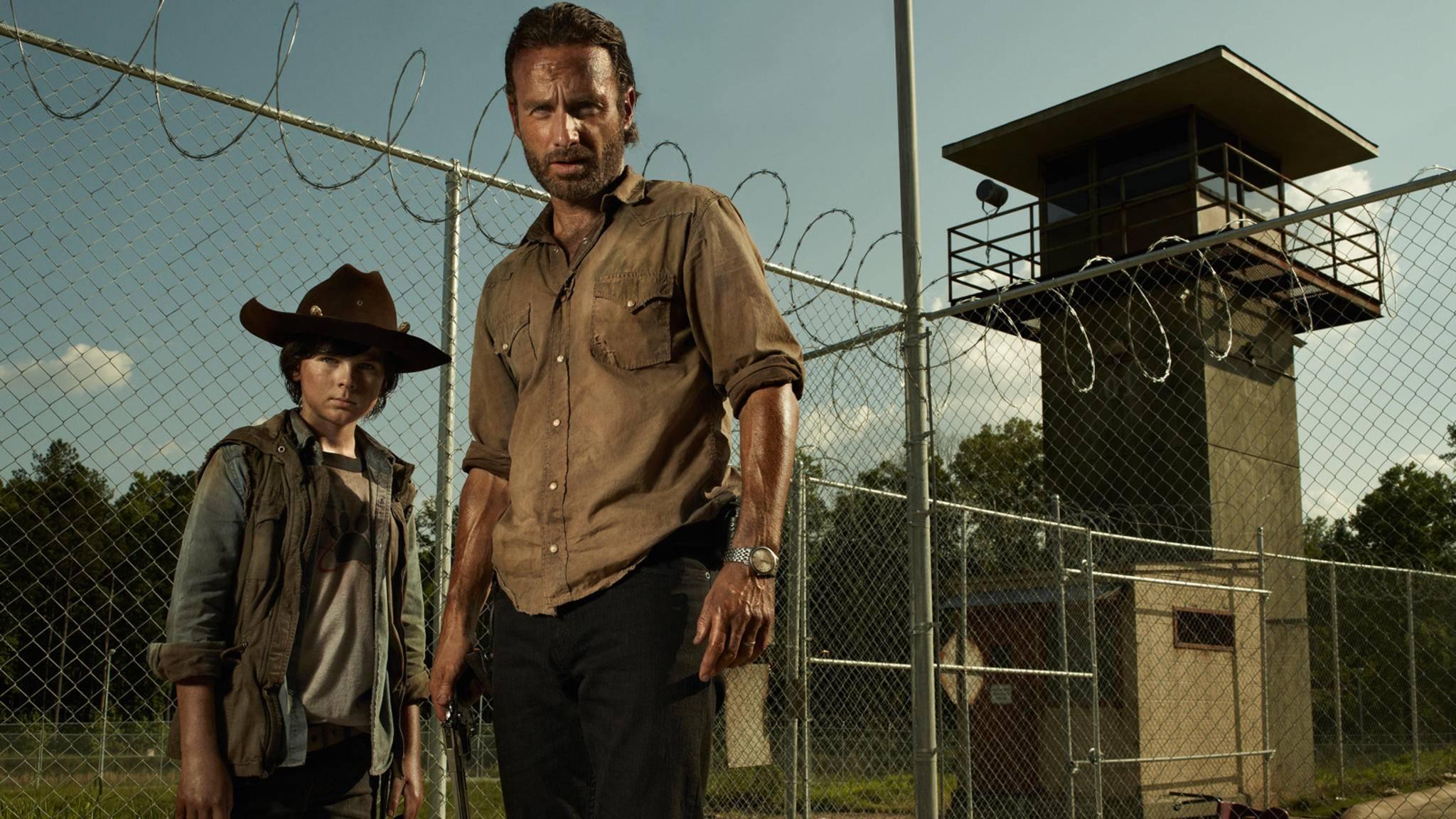 """Rick und Carl sind nicht die einzigen Charaktere aus """"The Walking Dead"""", die sich seit Staffel 1 ganz schön verändert haben."""