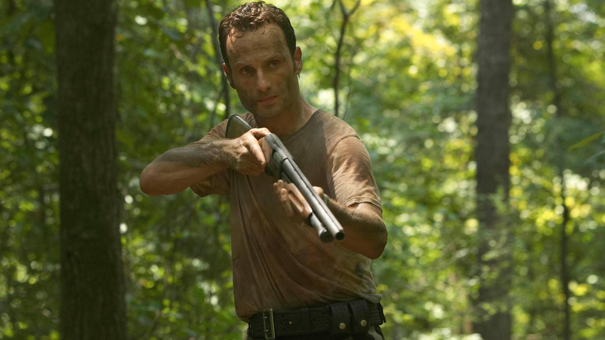 """Noch in Staffel 1 von """"The Walking Dead"""" nannte sich Rick Grimes ziemlich passend """"Officer Freundlich""""."""