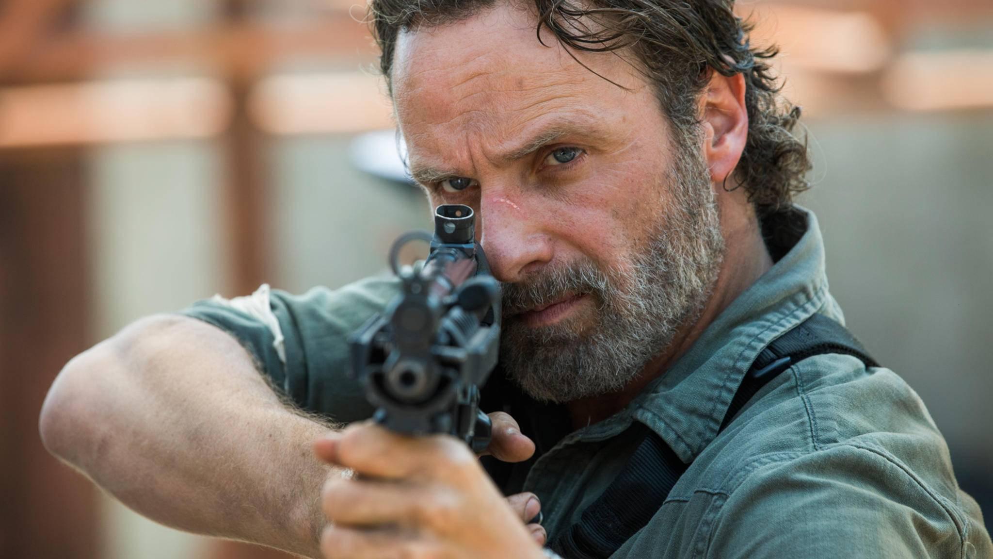 """Von """"Officer Freundlich"""" ist """"The Walking Dead""""-Charakter Rick Grimes inzwischen ziemlich weit entfernt."""