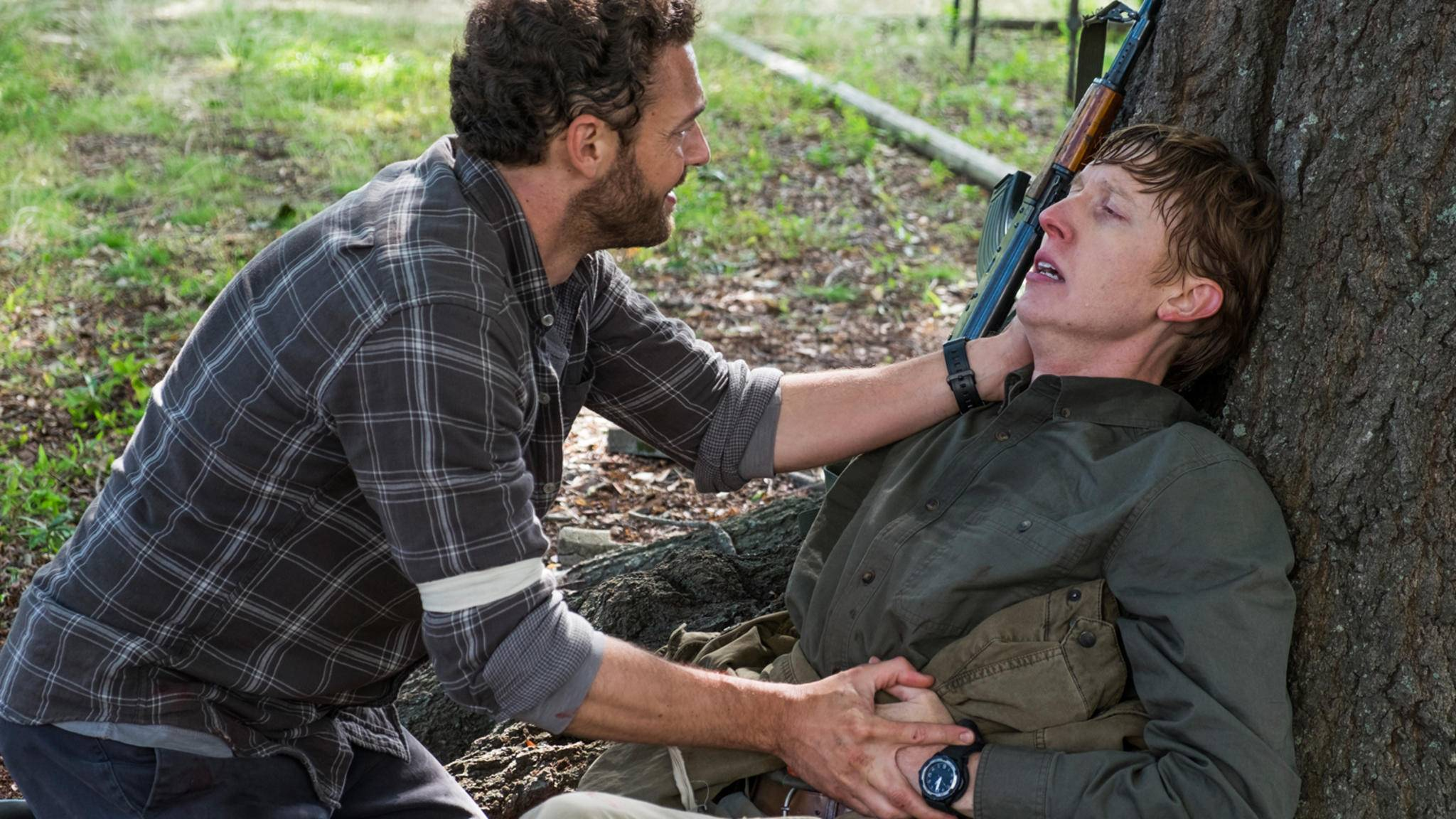 ... und teilt mit ihm dann die wohl emotionalste Szene der ganzen Folge.