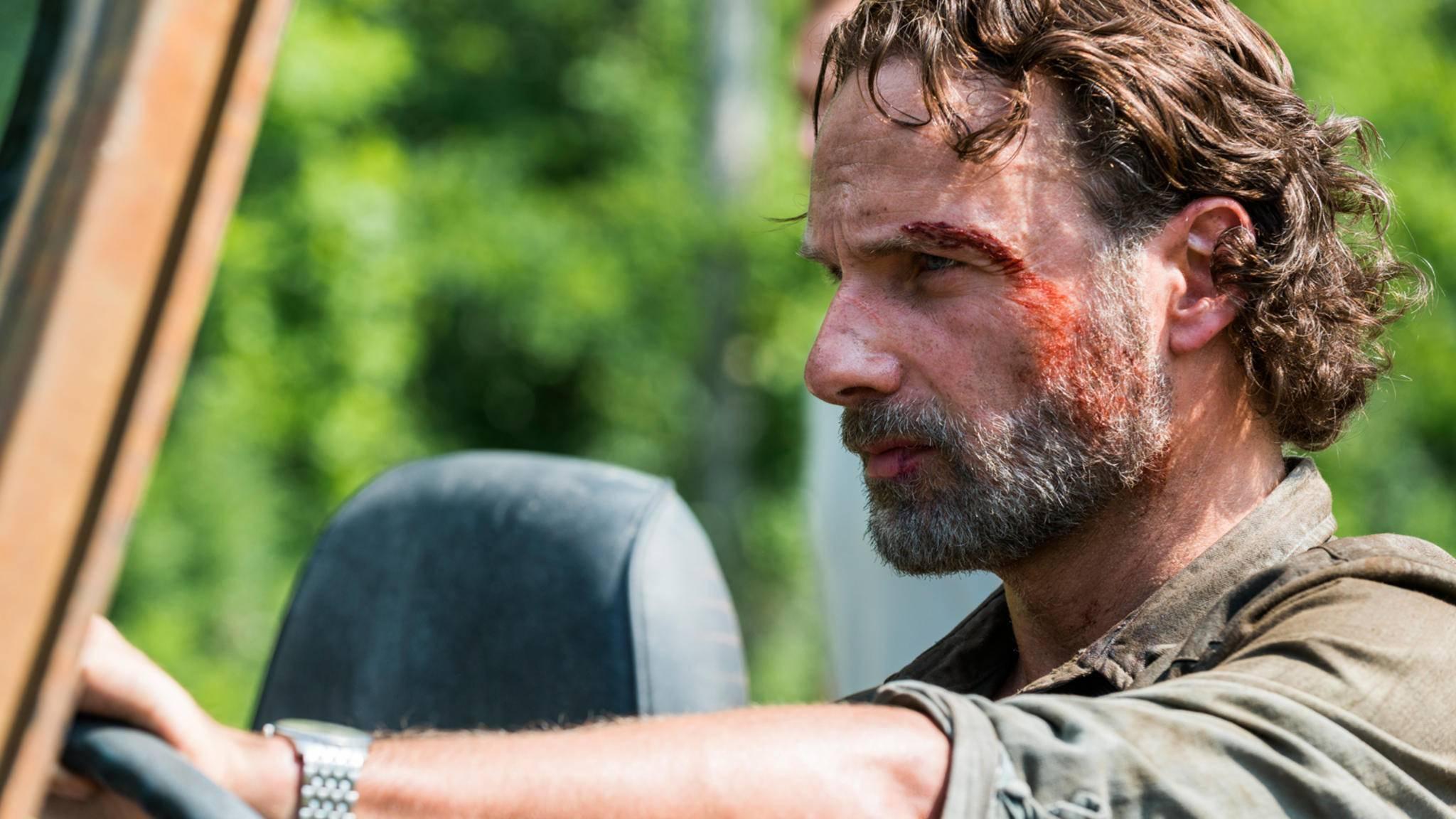 """Angesichts der aktuellen Quotenentwicklung von Staffel 8 hat """"The Walking Dead"""" nicht viel zu lachen."""