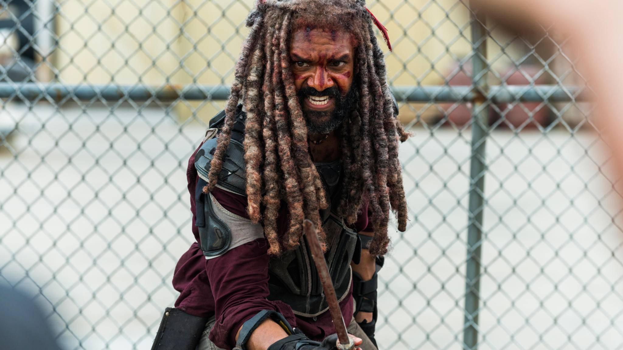 """König Ezekiel muss in Episode 4 der aktuellen """"The Walking Dead""""-Staffel einiges mitmachen."""