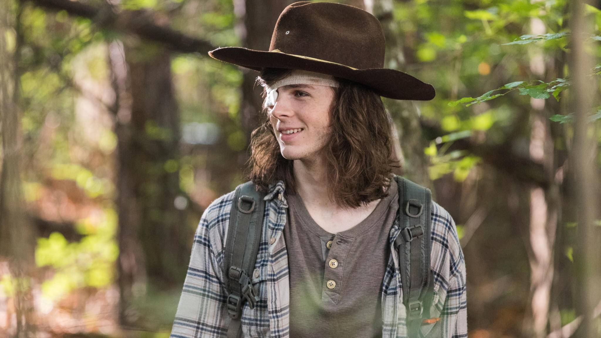 """Eigentlich mochte Darsteller Chandler Riggs seine """"The Walking Dead""""-Frisur ..."""