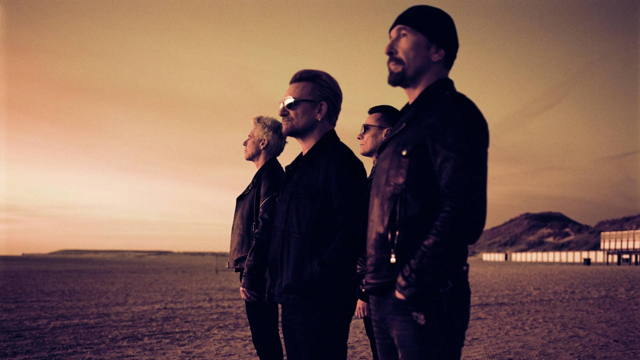 """Drei Jahre war es ruhig um U2 – jetzt melden sie sich mit ihrem 14. Album """"Songs Of Experience"""" zurück."""