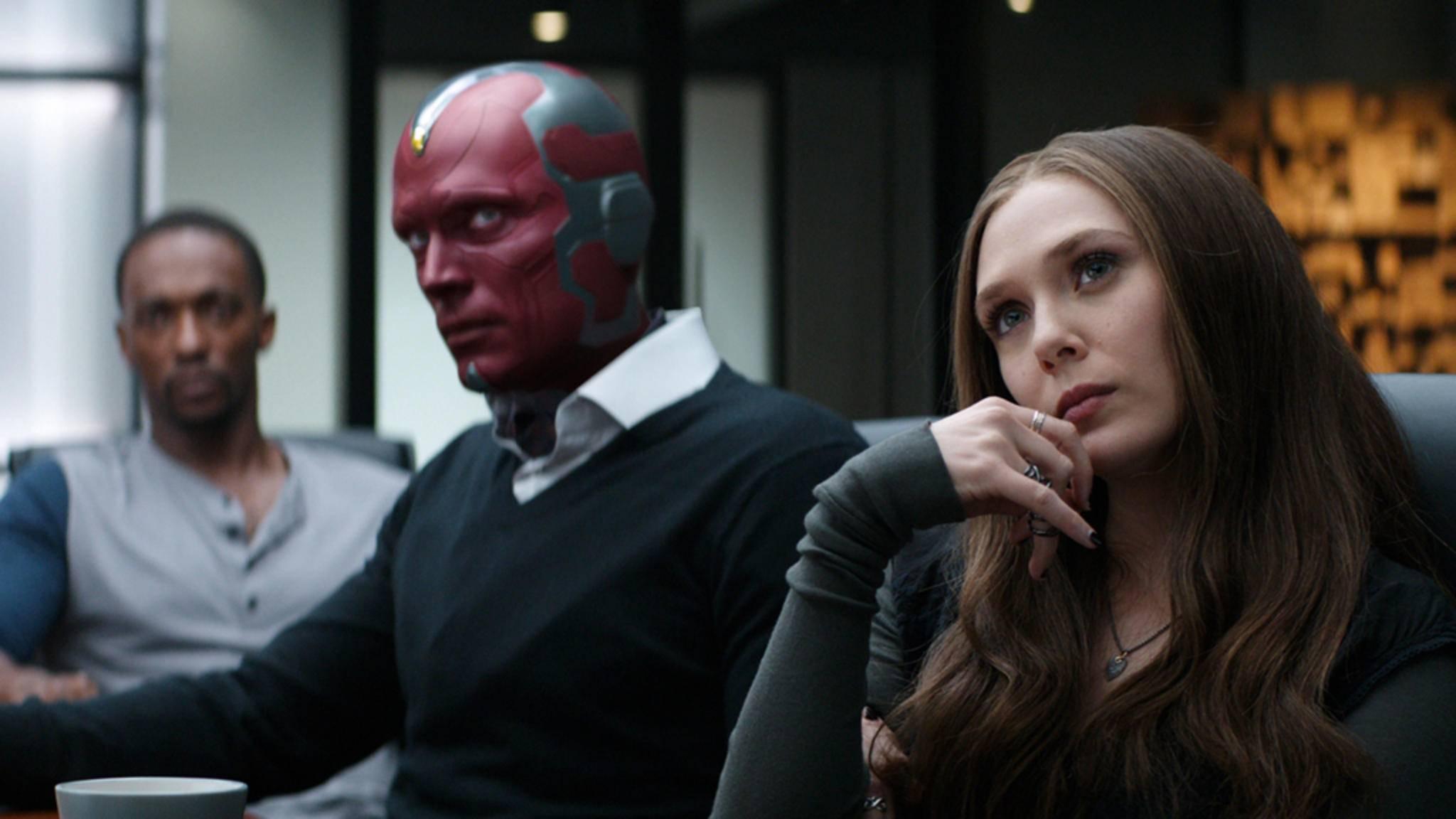 Wie ernst wird es zwischen Vision und Scarlet Witch?