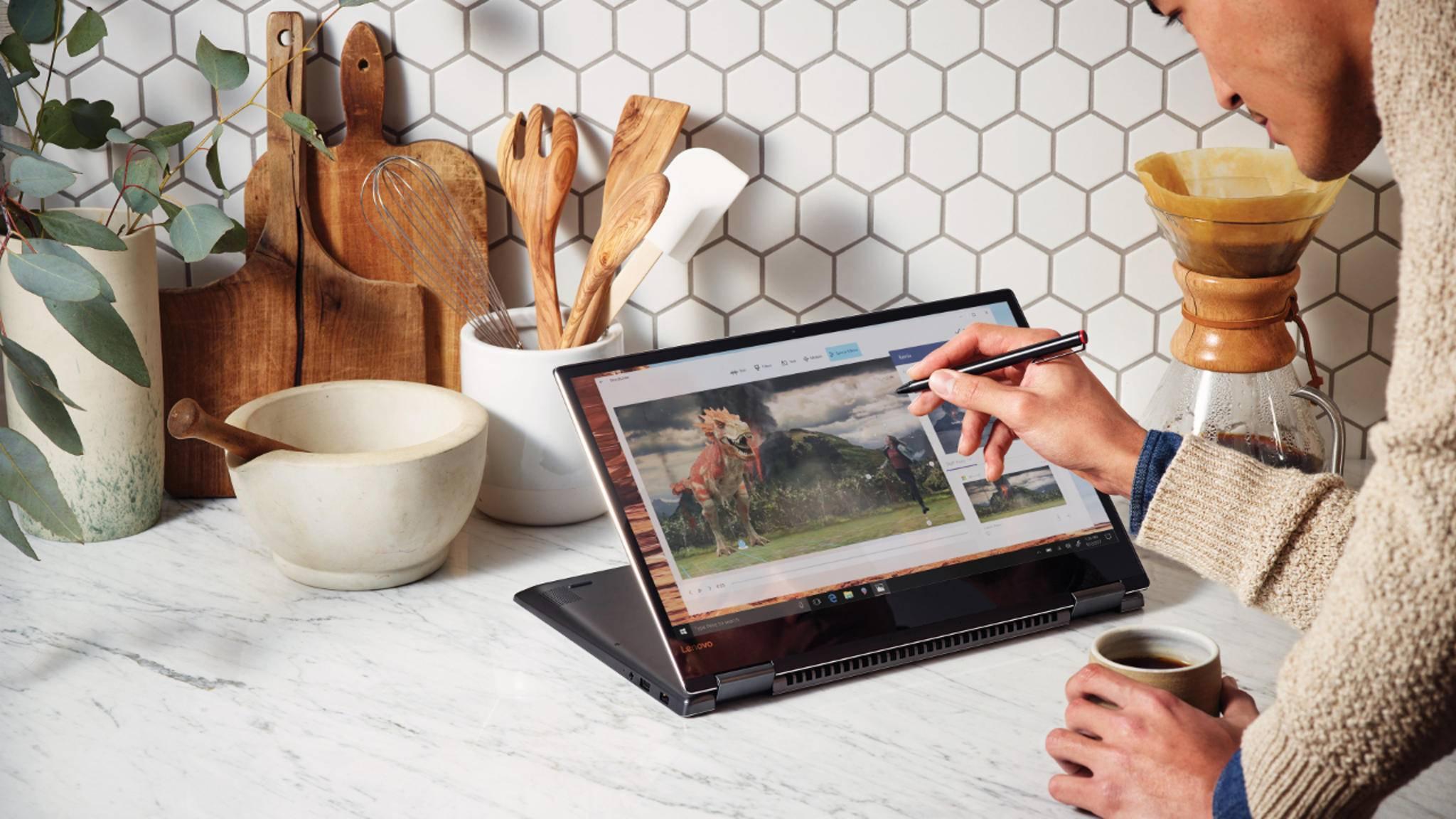 Das Windows 10 April 2018 Update bietet neue Funktionen wie die Timeline.