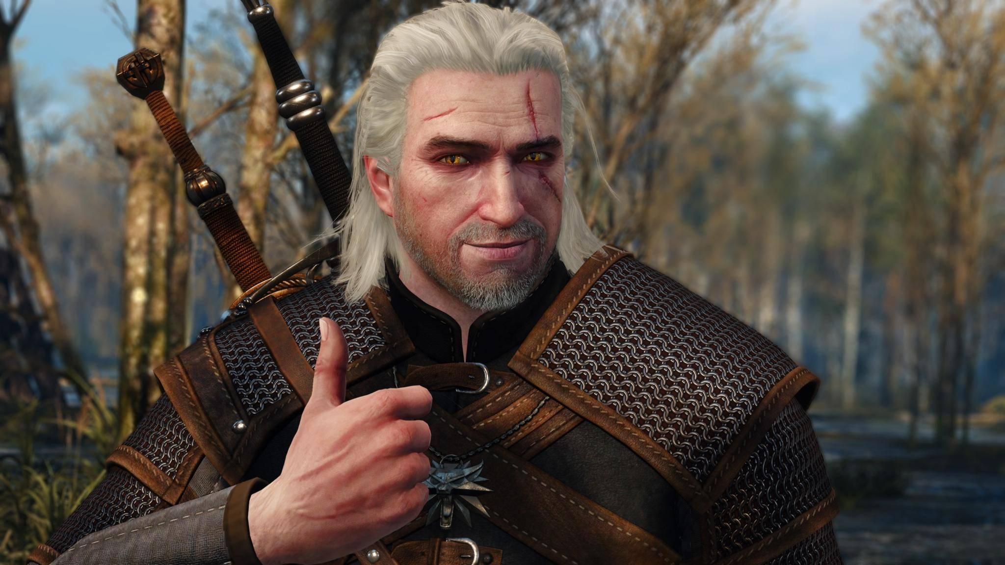Passt! Henry Cavill wird optisch zum Hexer Geralt von Riva.
