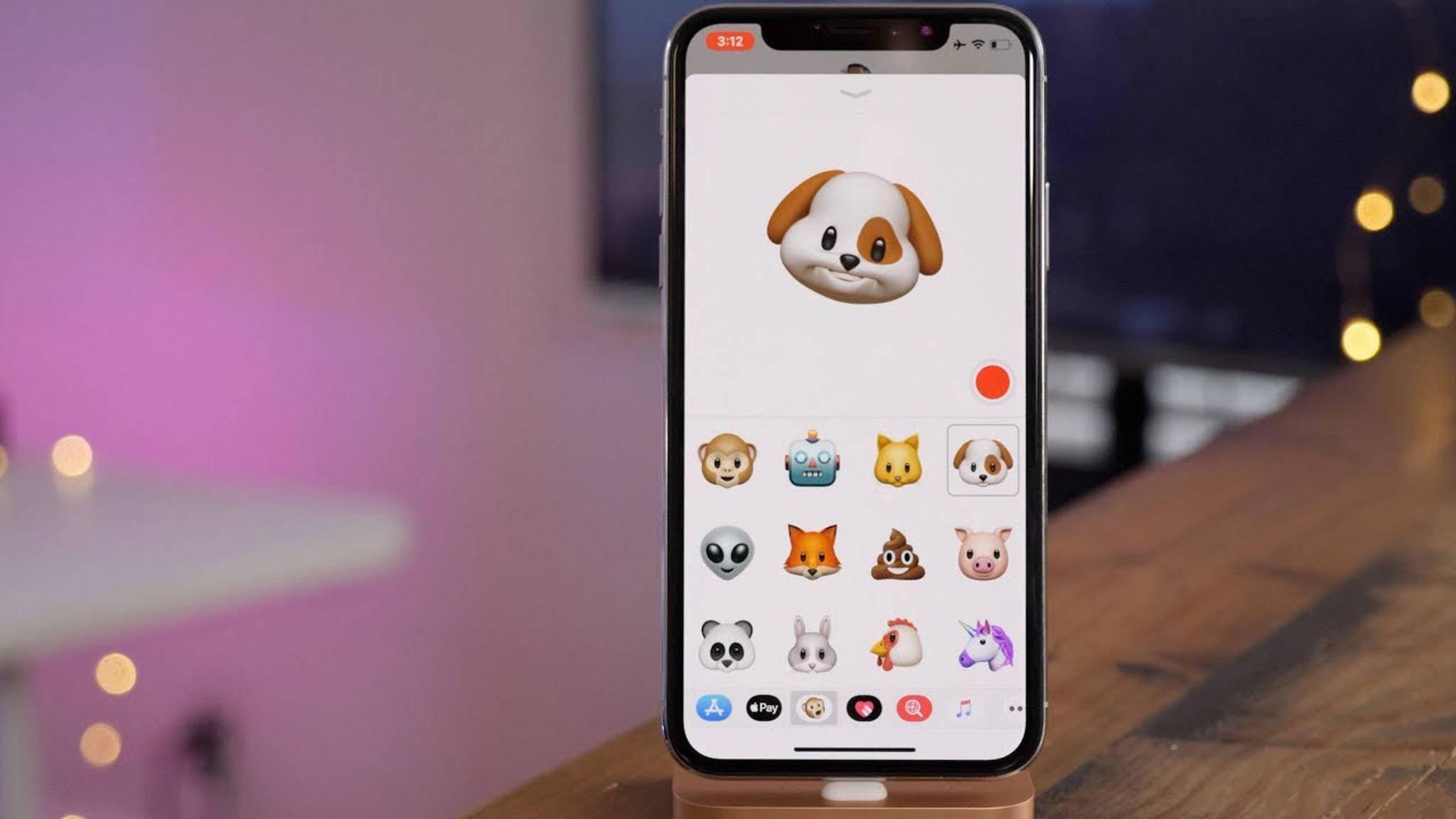 Nur das iPhone X kann Animojis erstellen – behauptet zumindest Apple.