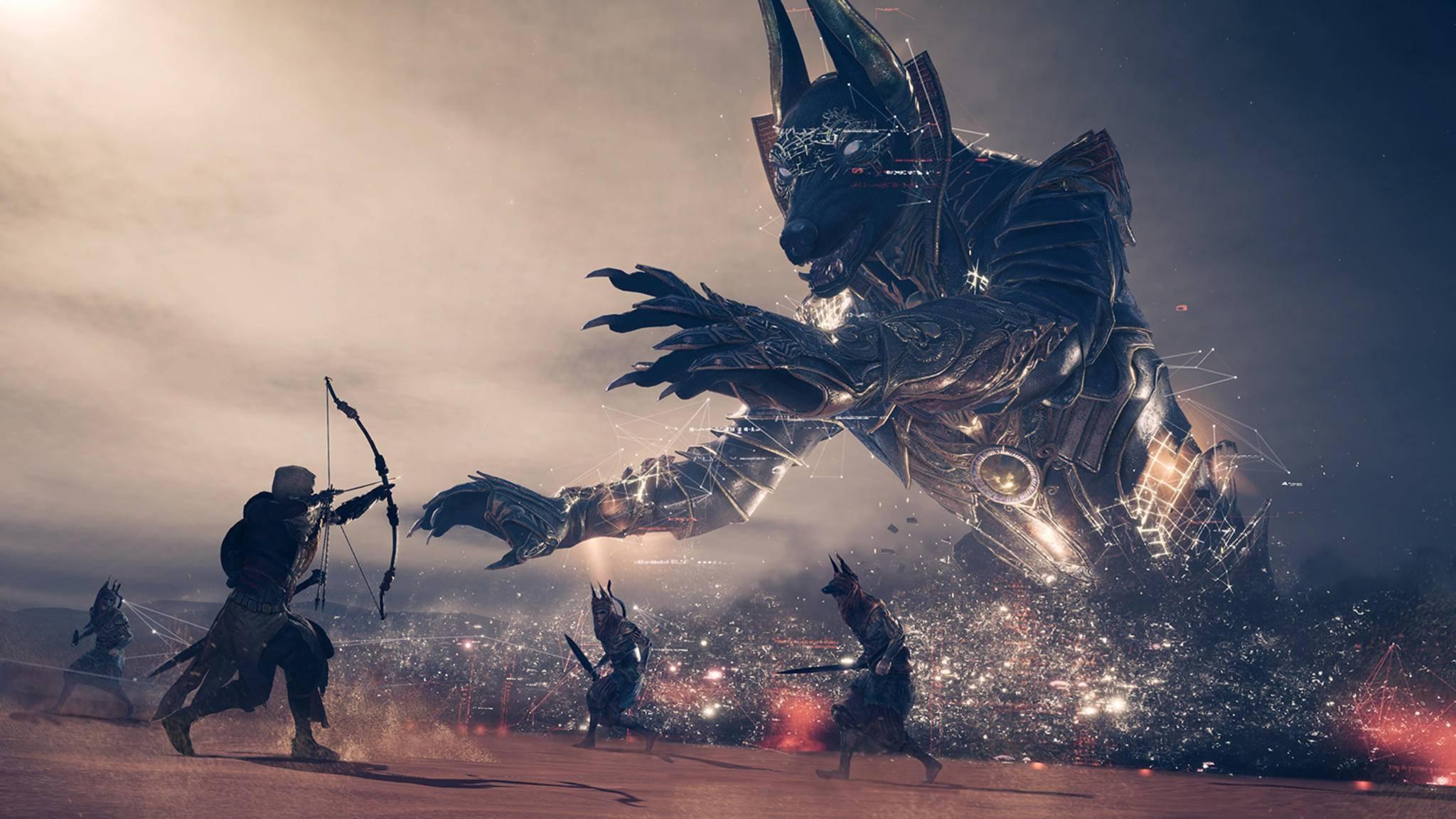 "Die Bosskämpfe in ""Assassin's Creed: Origins"" werden härter."