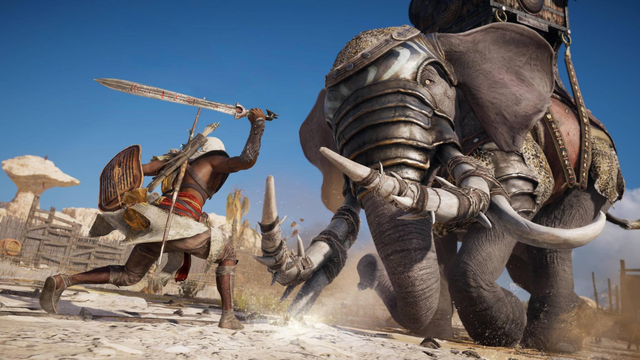"""Ein großes Update für """"Assassin's Creed: Origins"""" bringt unter anderem einen härteren Schwierigkeitsgrad."""