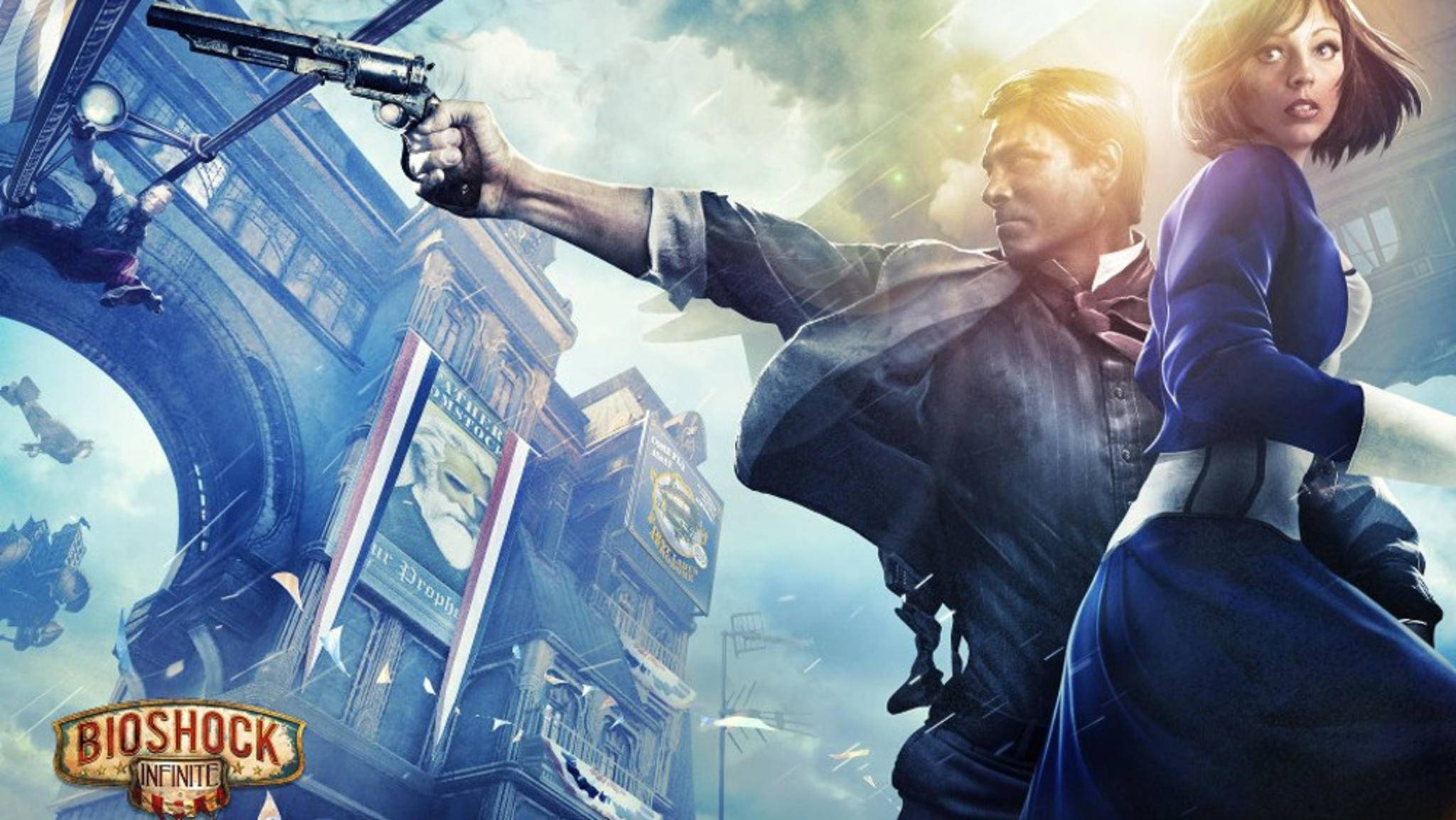 """Bis zum Release von """"BioShock 4"""" dauert es wohl noch ein paar Jahre (Bild: """"BioShock Infinite"""")."""