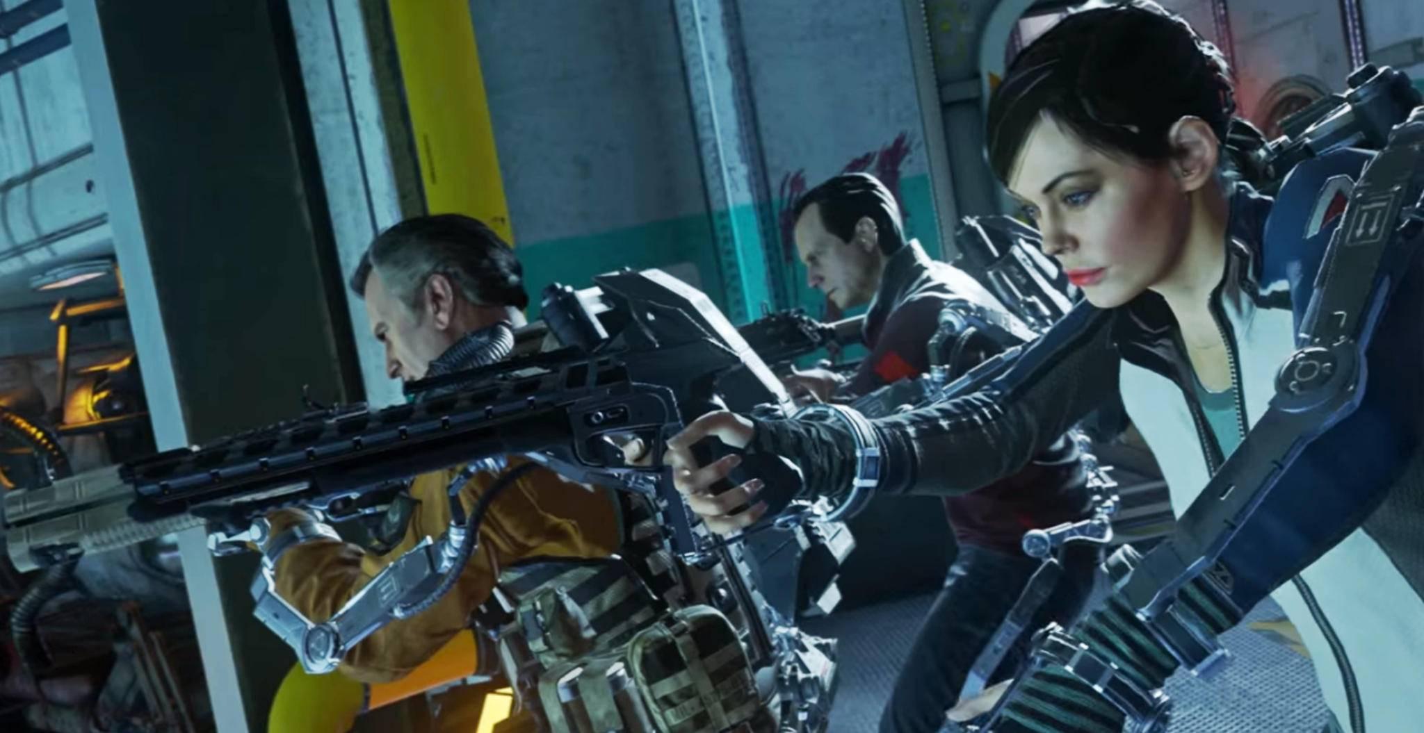 """Statt """"Call of Duty: WW2"""" hätte es beinahe wieder einen Exo-Skelett-Shooter gegeben."""