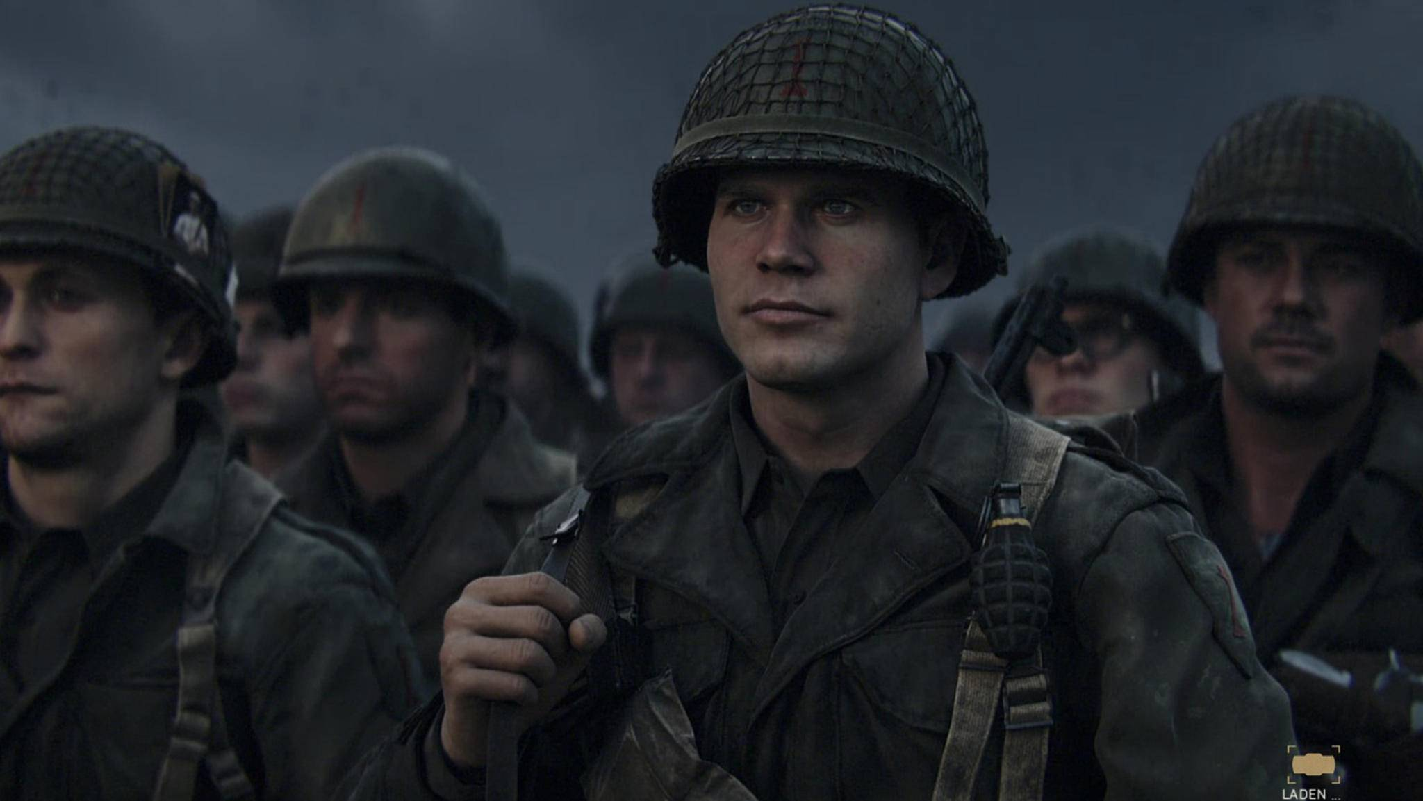 """Call of Duty: WW2"" erzählt die Geschichte des Soldaten Ronald Daniels."
