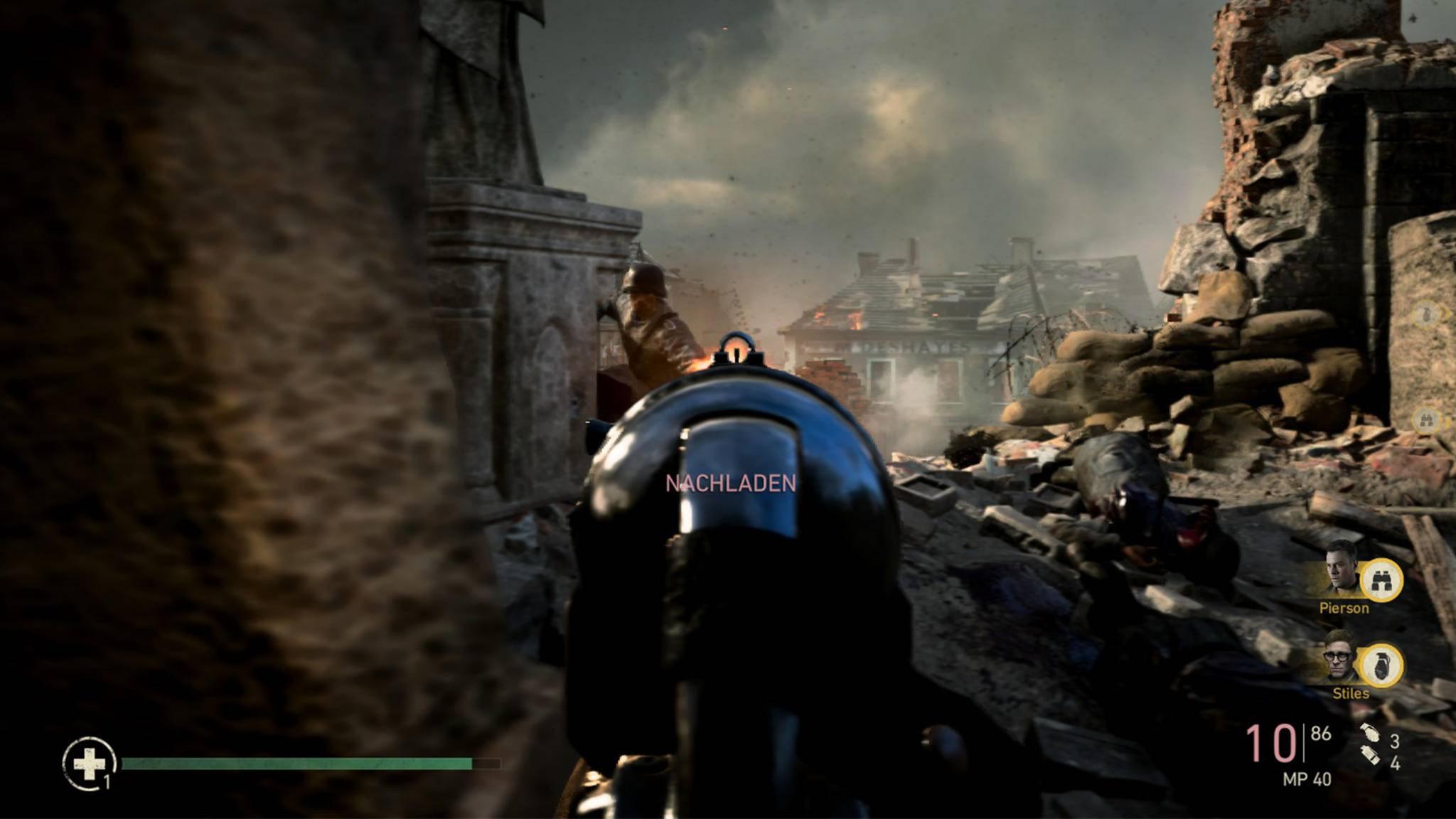 """In """"Call of Duty: WW2"""" geht es ab sofort etwas langsamer voran."""