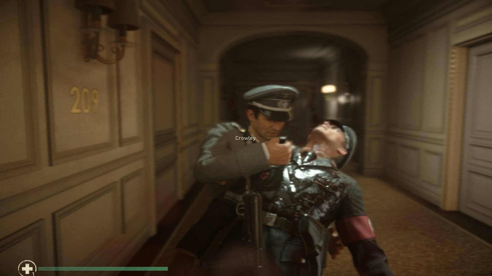 ... und dabei noch Hilfe des verbündeten Offiziers bekommt. Danach ...