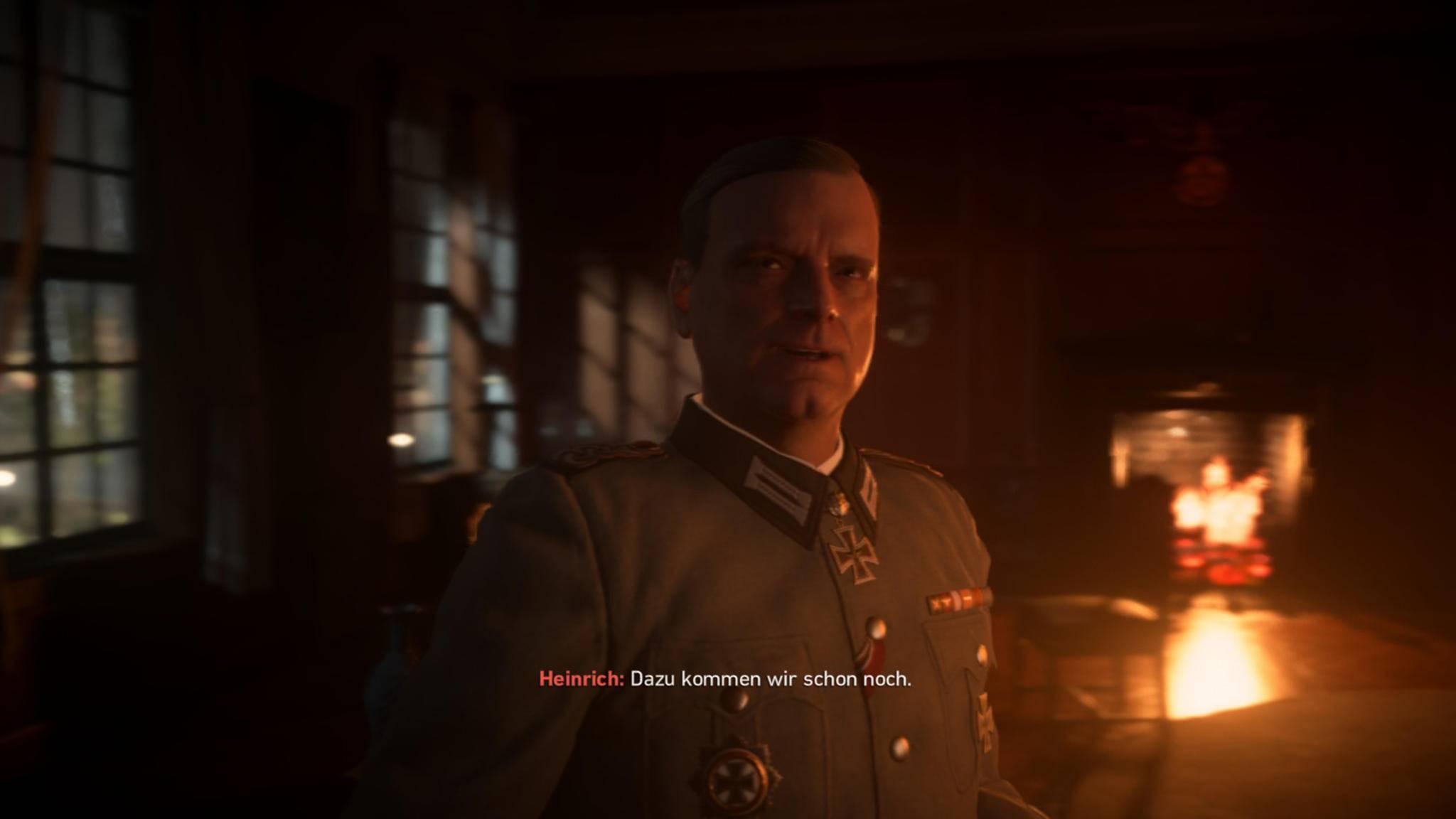 ... sich mit einem fiesen Nazi treffen ...