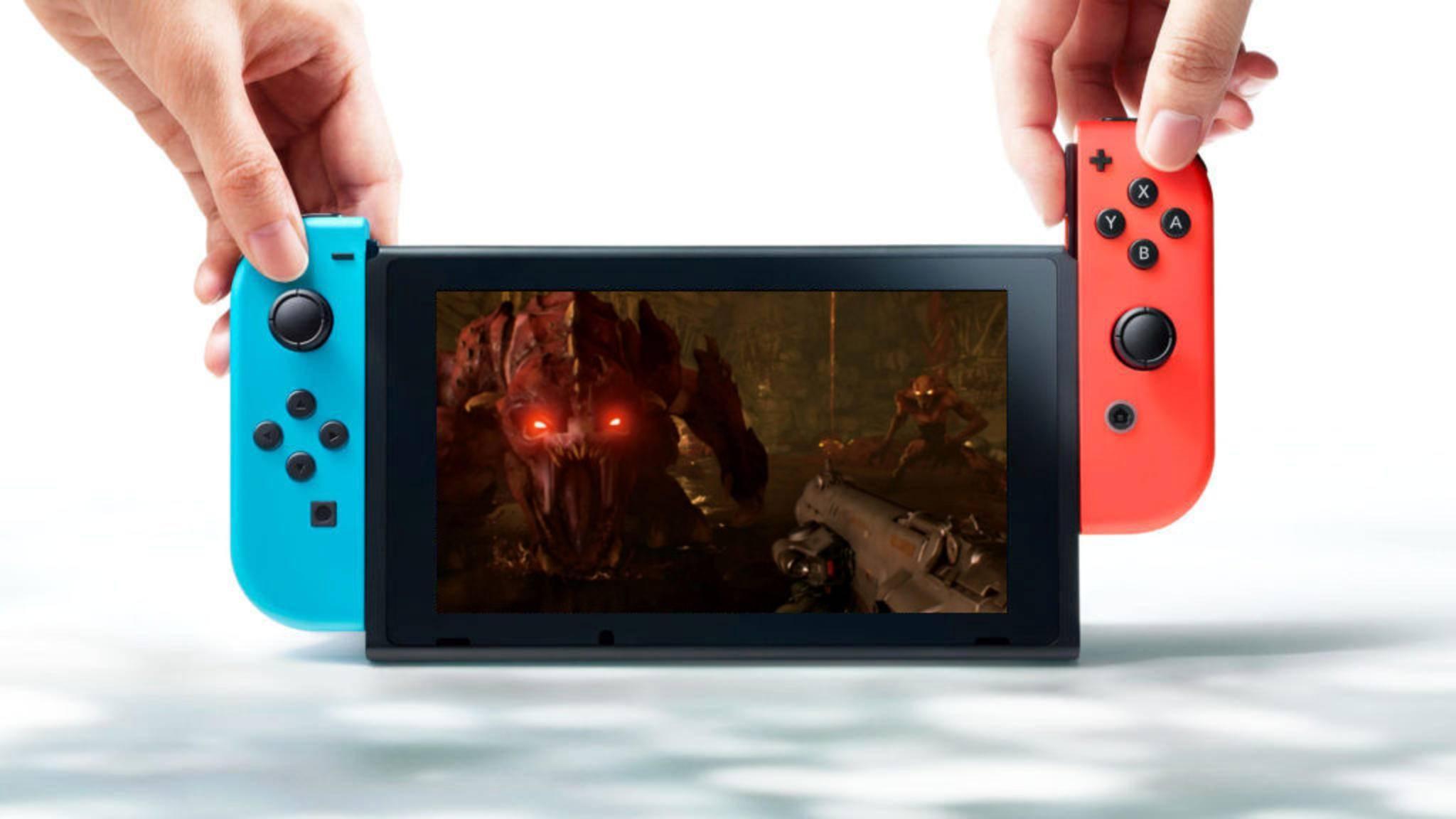 """""""Doom"""" und die Nintendo Switch passen erstaunlich gut zusammen."""