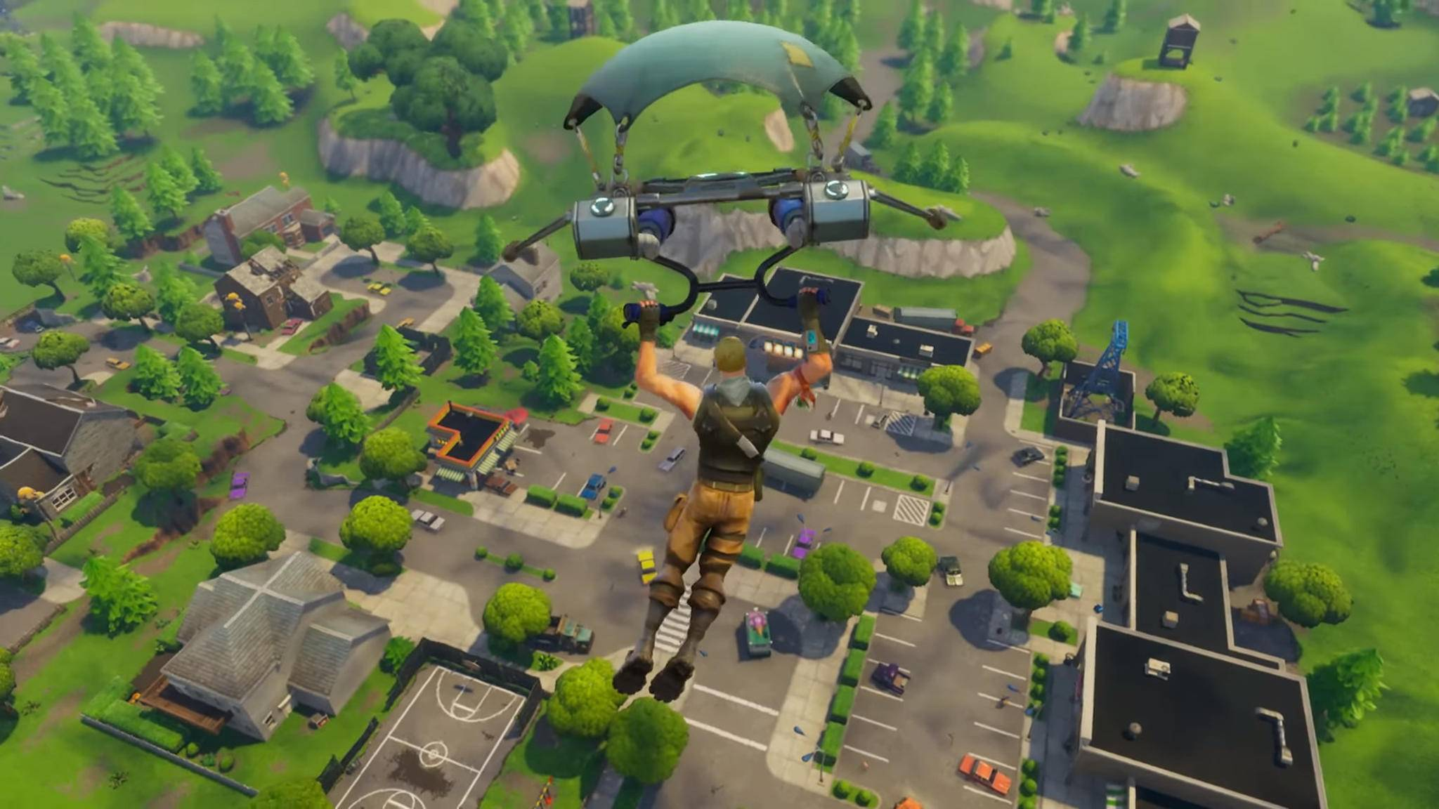"Für ""Fortnite: Battle Royal"" gibt es ein Update."