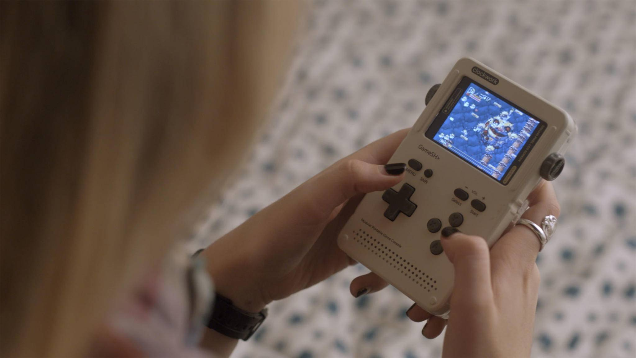 GameShell: Sieht aus wie ein GameBoy, läuft aber mit Linux.