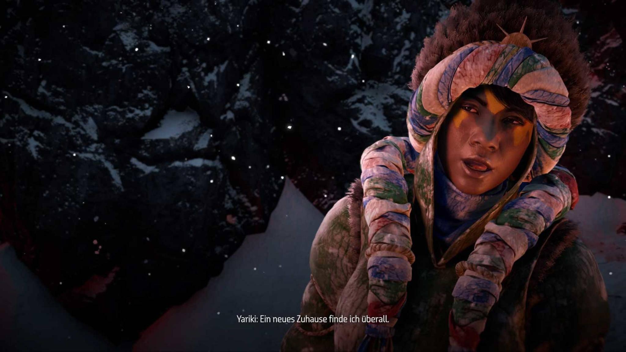 frozen wilds starten
