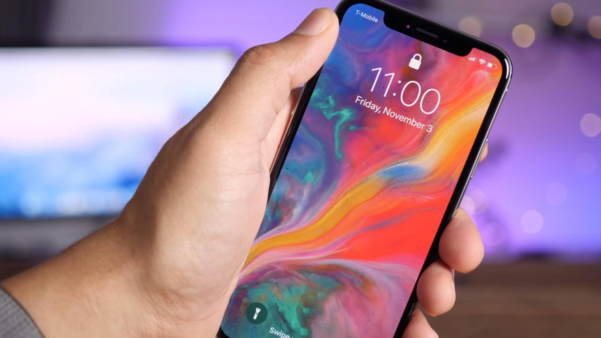 Wir verraten Dir, wie Du mit dem iPhone X einen Screenshot machen kannst.