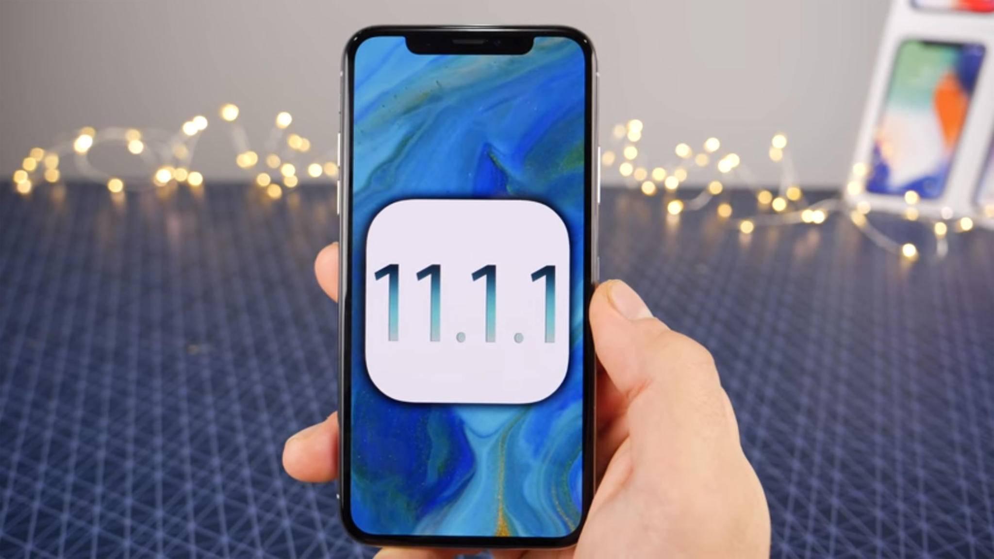 iOS-Versionen vor iOS 11.1.2 könnten bald einen Jailbreak erhalten.