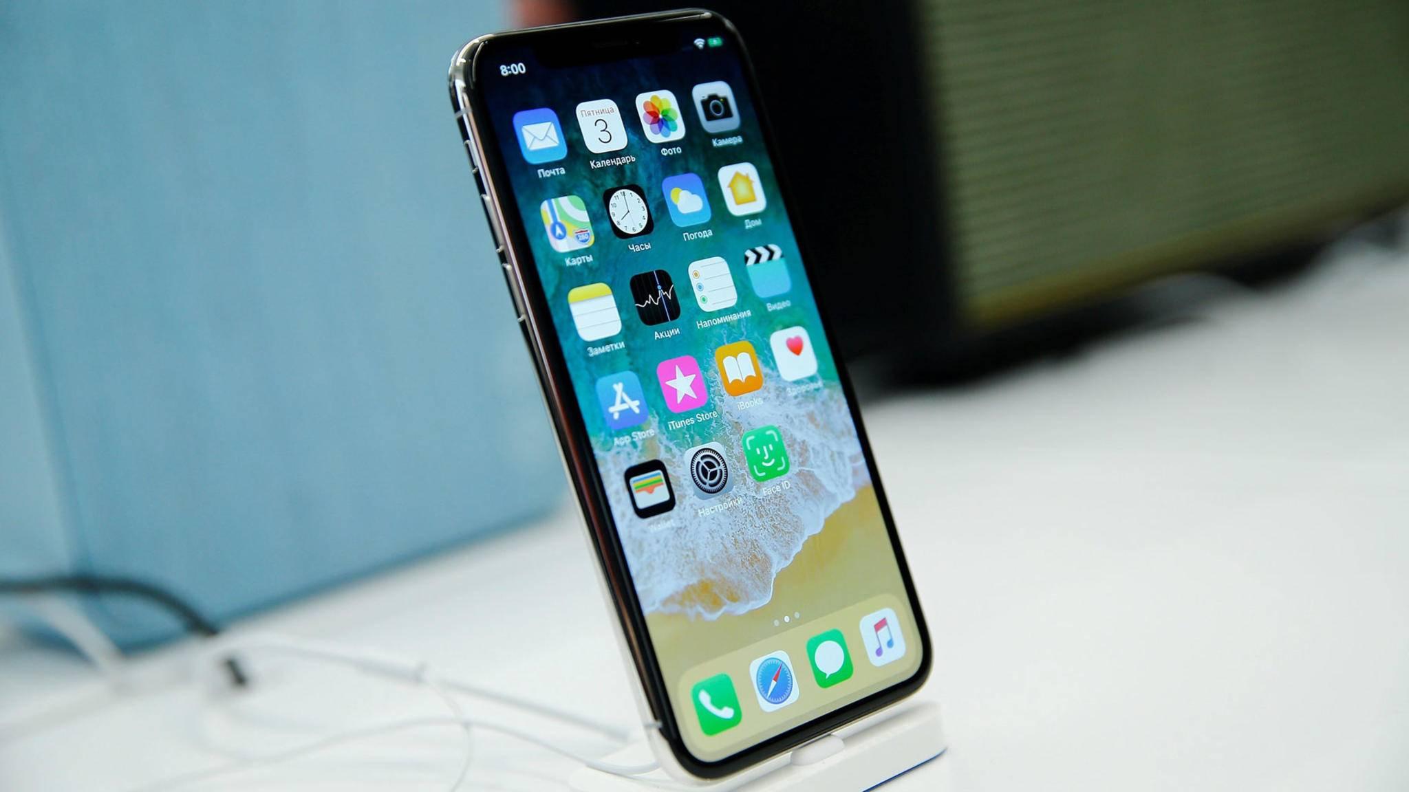 Das iPhone X verfügt über einen exklusiven Klingelton – und so kannst Du ihn Dir holen.