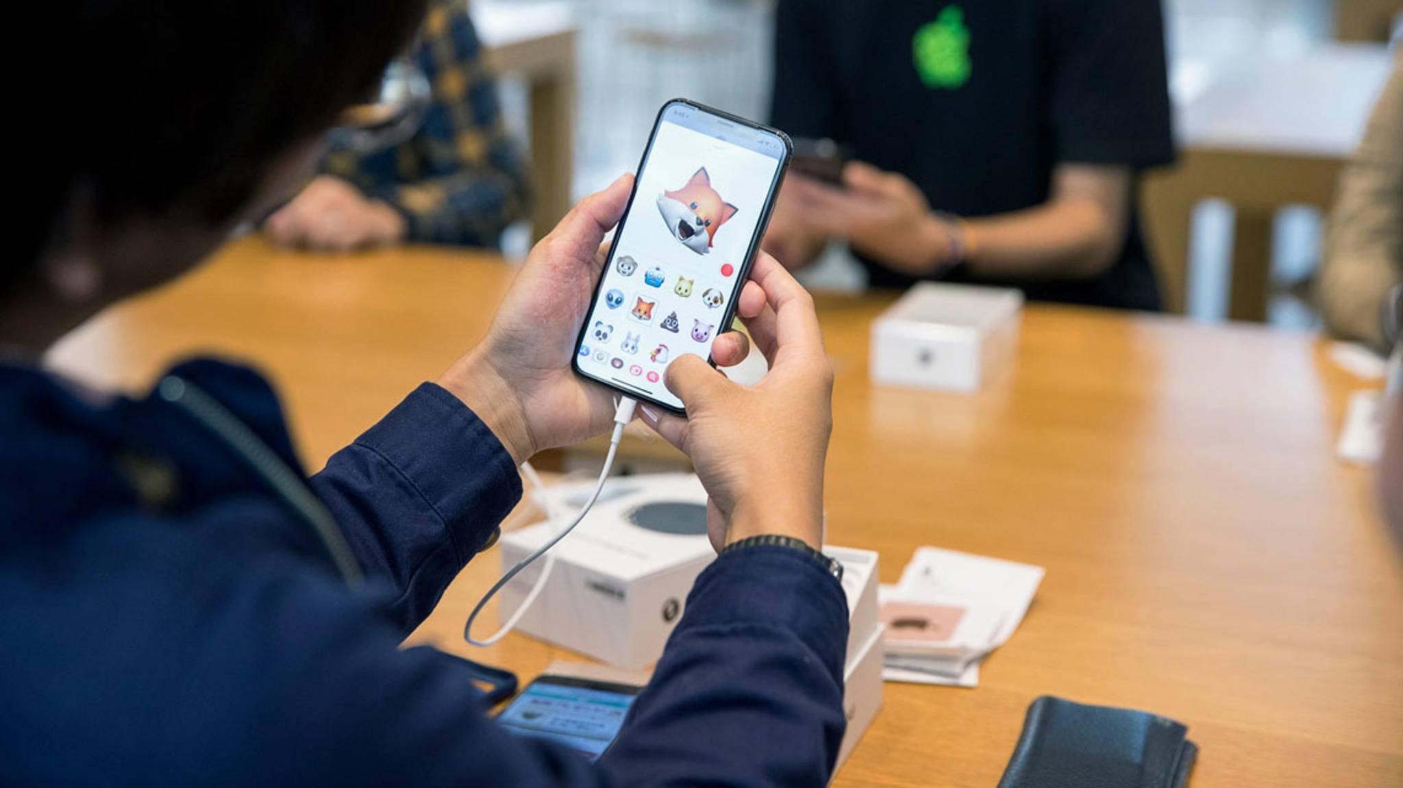 Innen top, außen flop? Kälte soll dem Display des iPhone X zu schaffen machen.