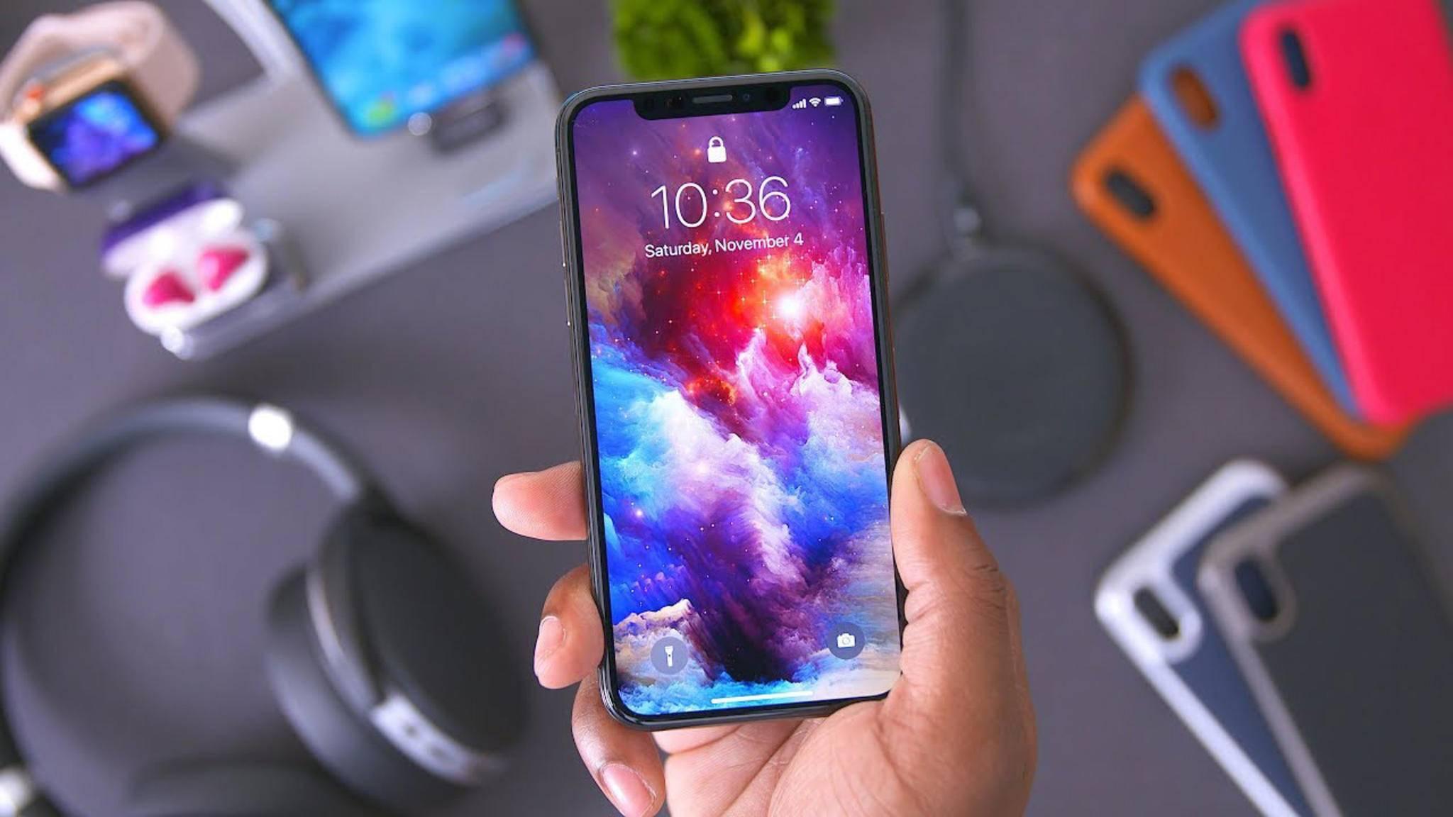 Gibt es von Samsung auch bald ein Smartphone mit Kerbe am oberen Rand?