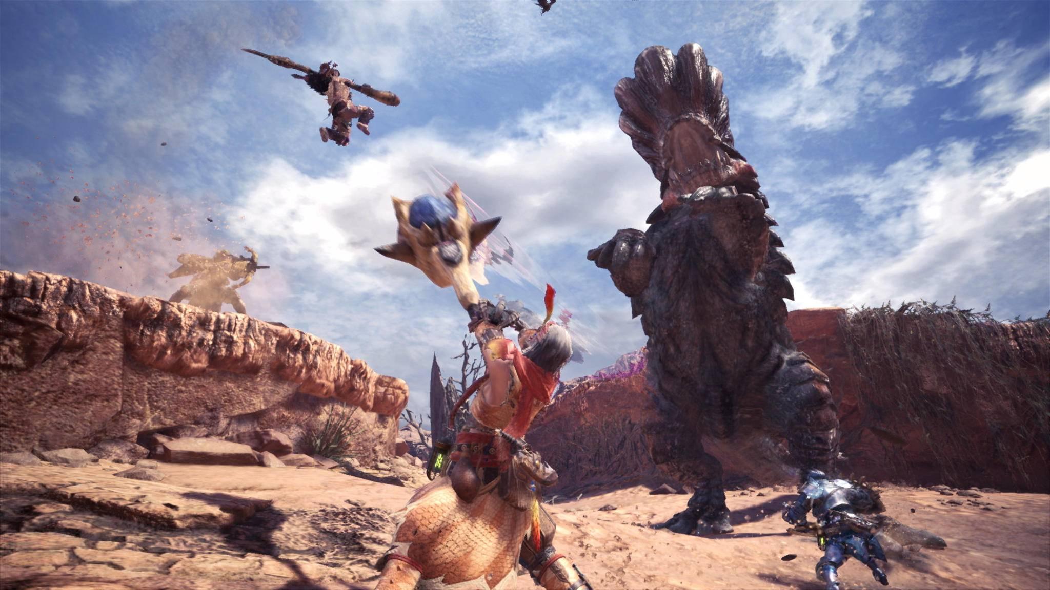 """PC-Gamer müssen noch etwas auf """"Monster Hunter World"""" warten."""