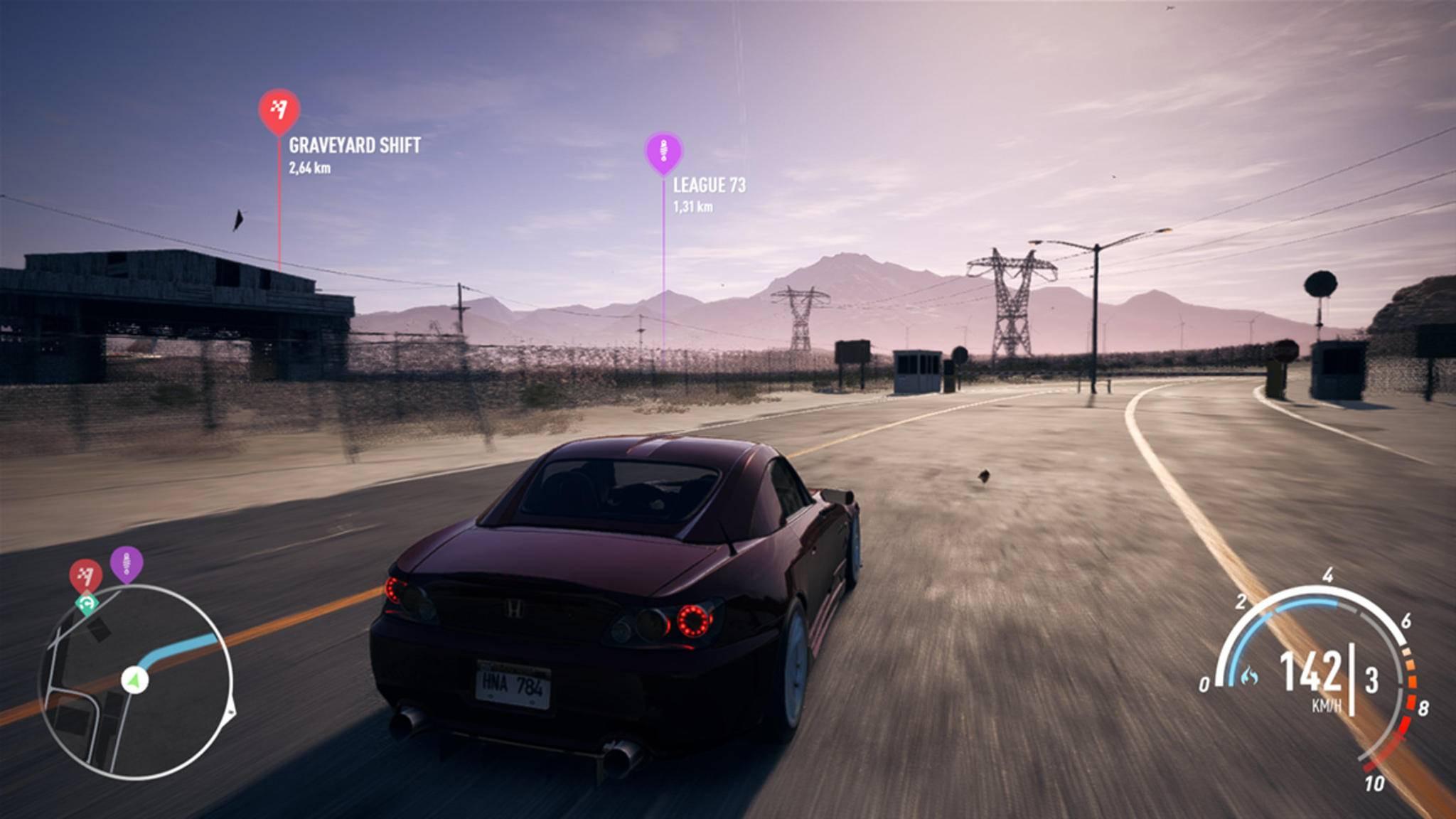 """Bei der Wracksuche in """"Need for Speed: Payback"""" kommst Du ganz schön rum ..."""