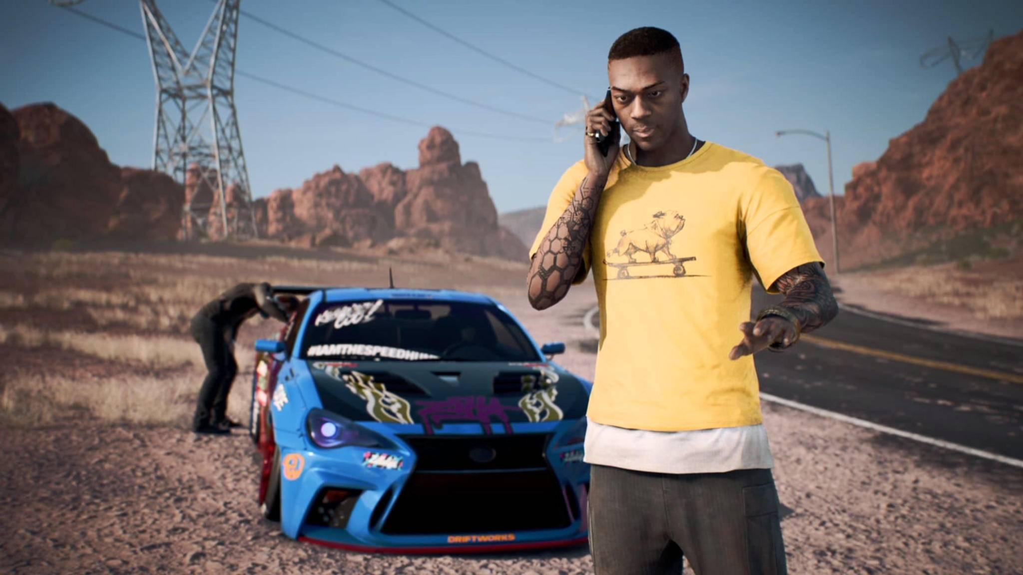 """Die Fans haben angerufen – sie wollen den nächsten """"Need for Speed""""-Teil."""
