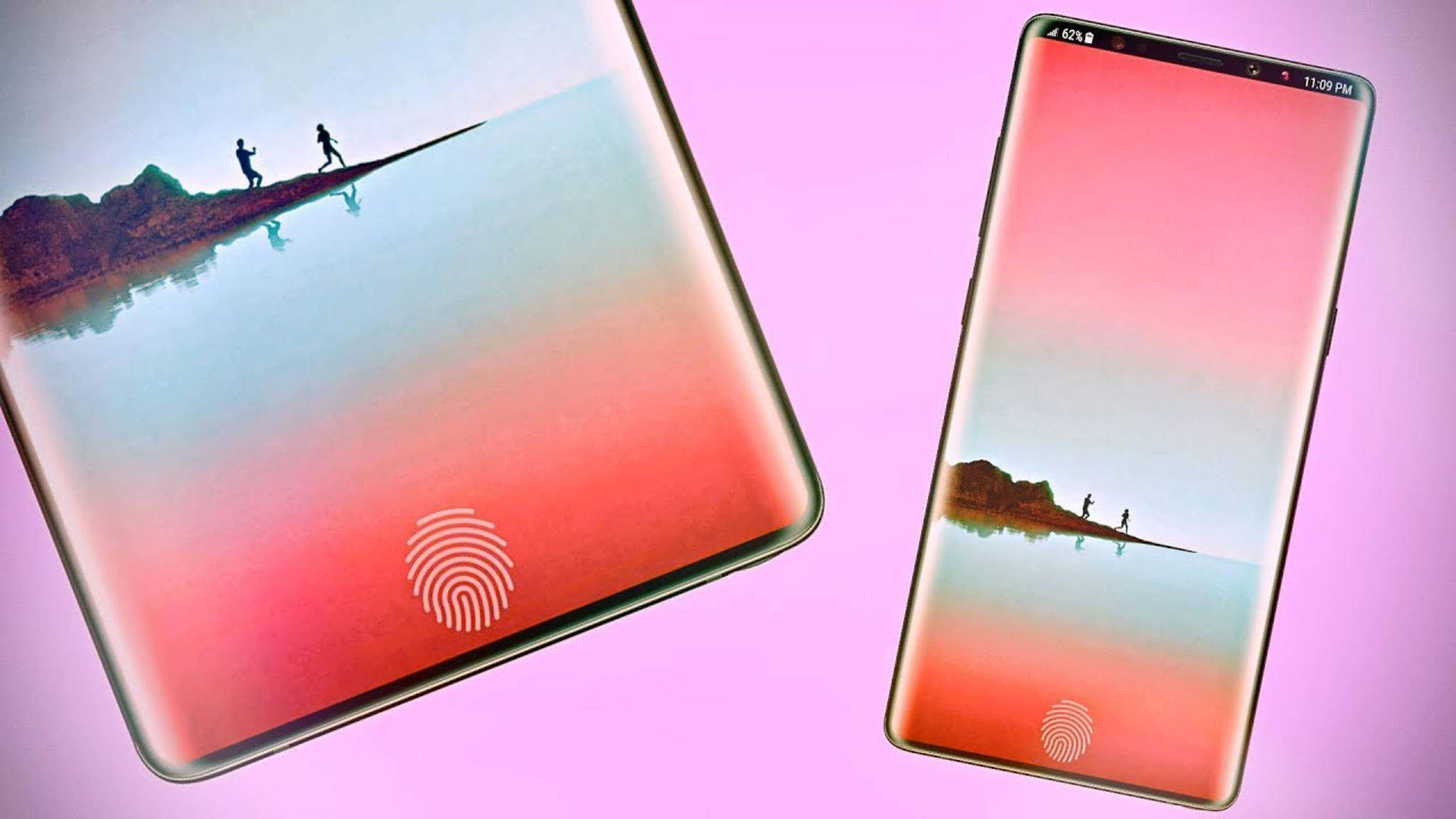 Wird das Galaxy Note 9 einen Fingerabdrucksensor im Display bieten?