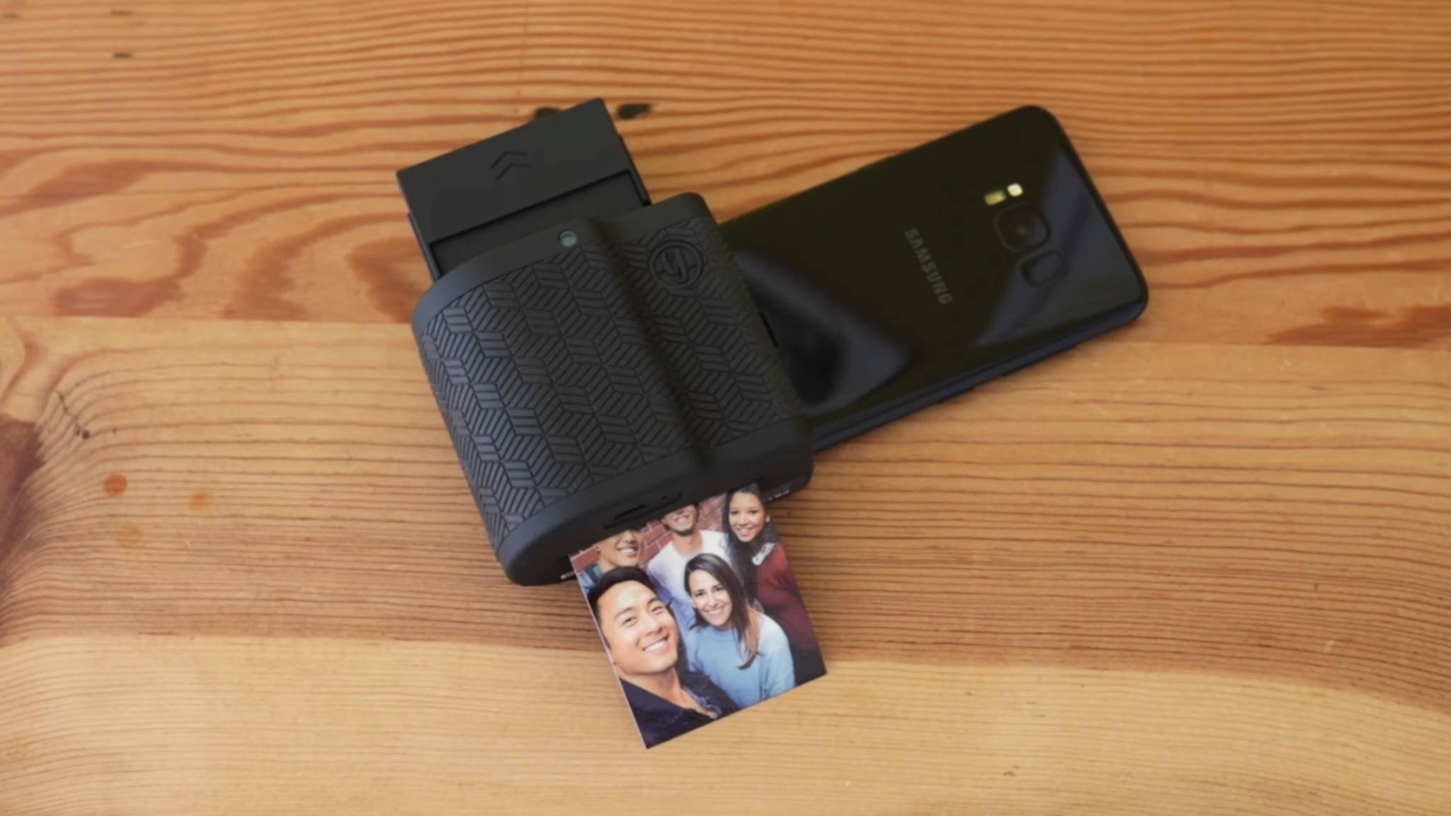 Prynt verwandelt ein Handy in eine Sofortbildkamera.