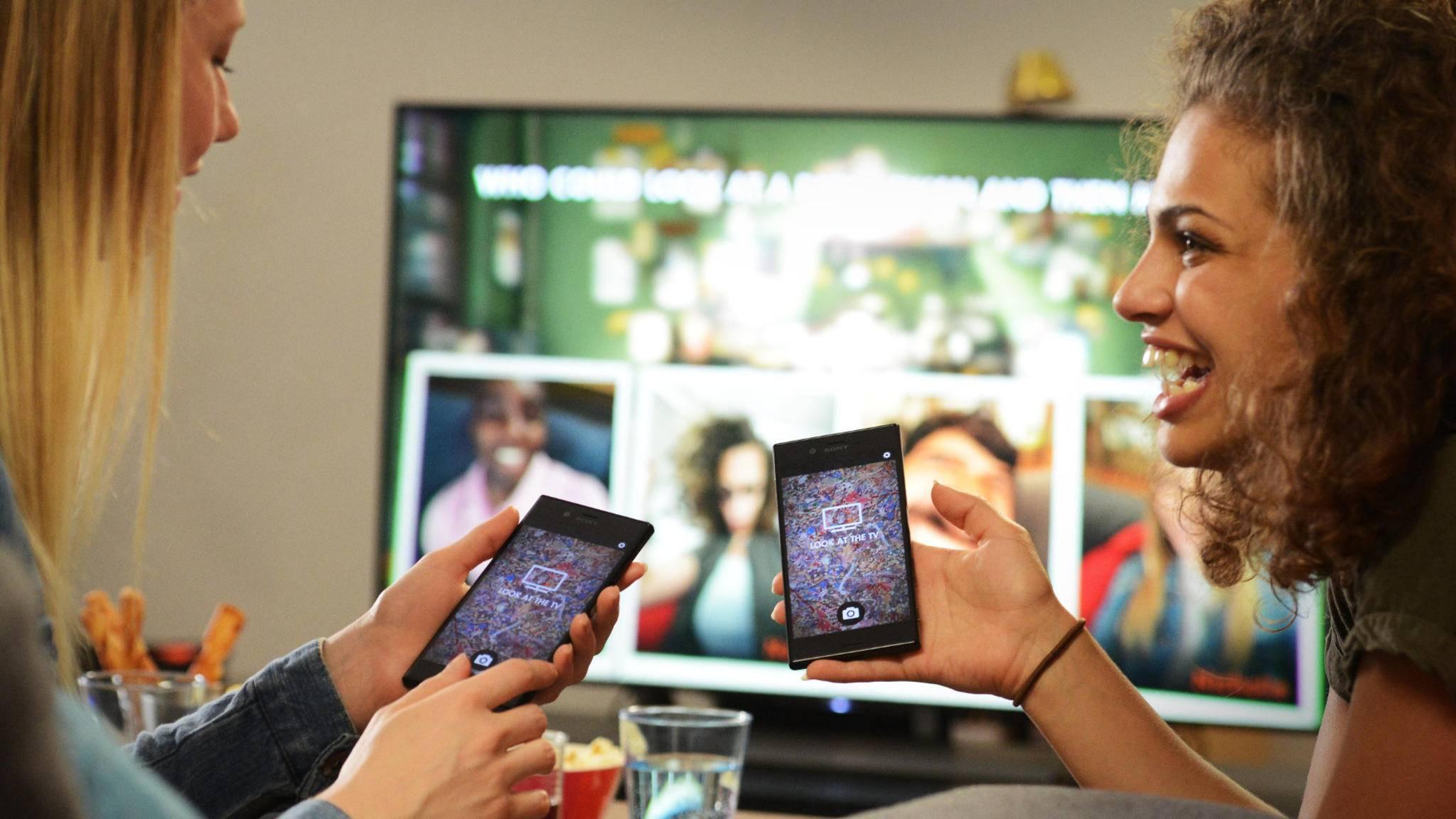 Mit PlayLink für PS4 wird das eigene Smartphone zum Controller.