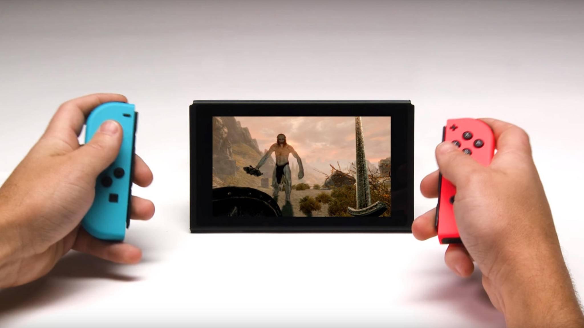 Auch auf der Nintendo Switch steht nun ein Besuch in Himmelsrand auf dem Plan.