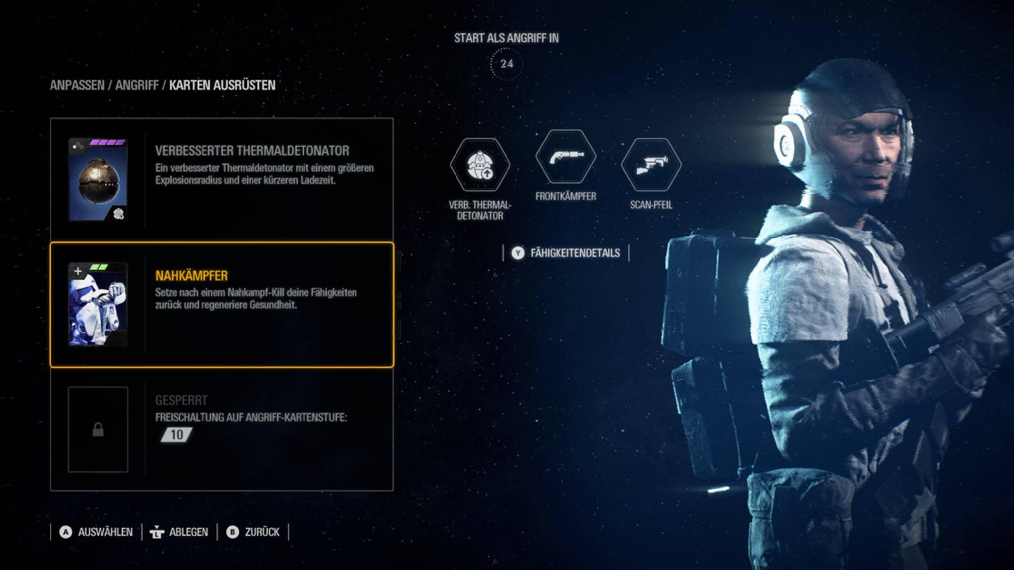Sternkarten verbessern Deine Truppen und ihre Fähigkeiten.