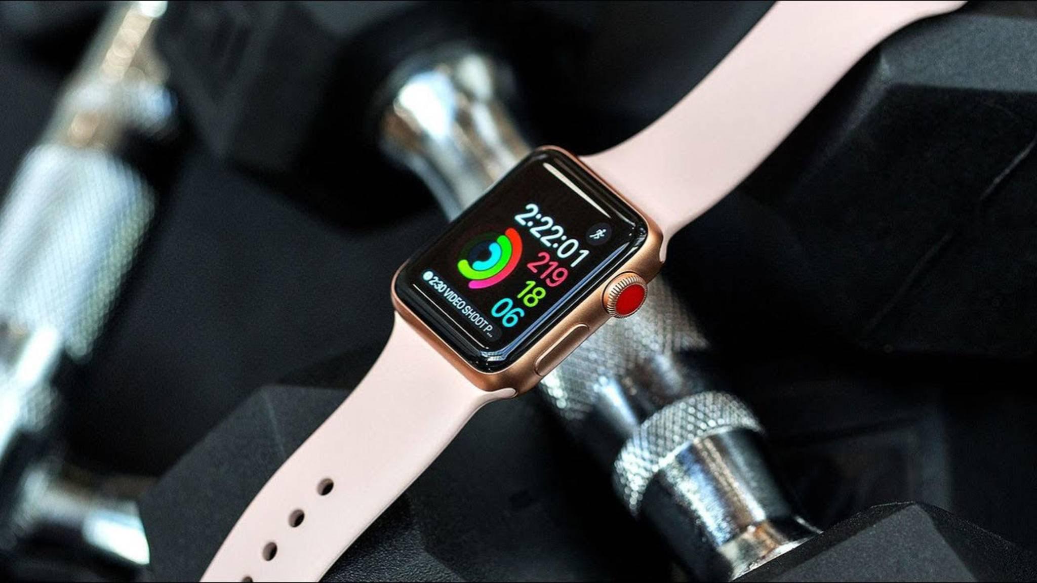 Derzeit nicht besonders fit, wenn es um das aktuelle Wetter geht: die Apple Watch Series 3.