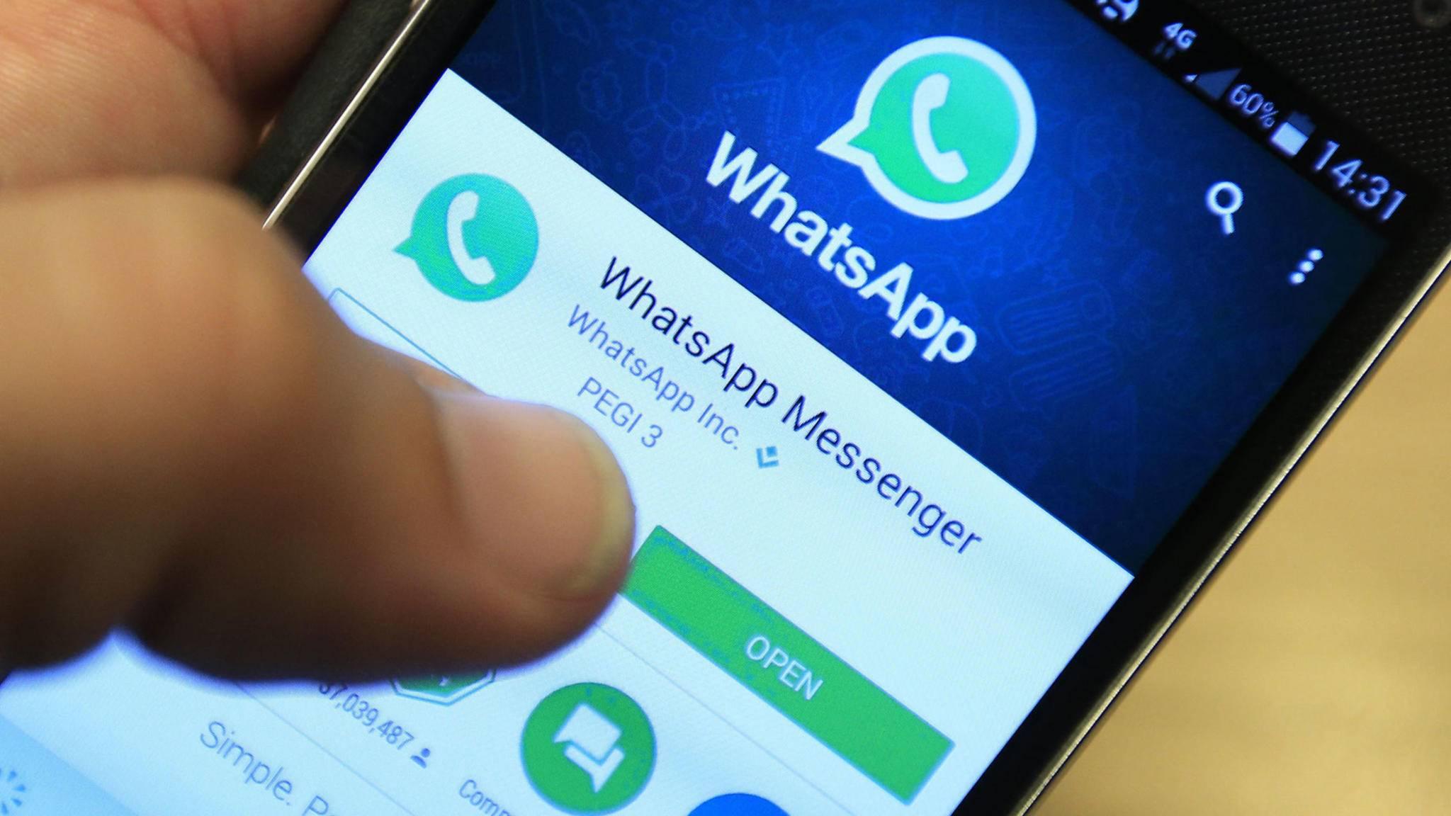 WhatsApp Play Store