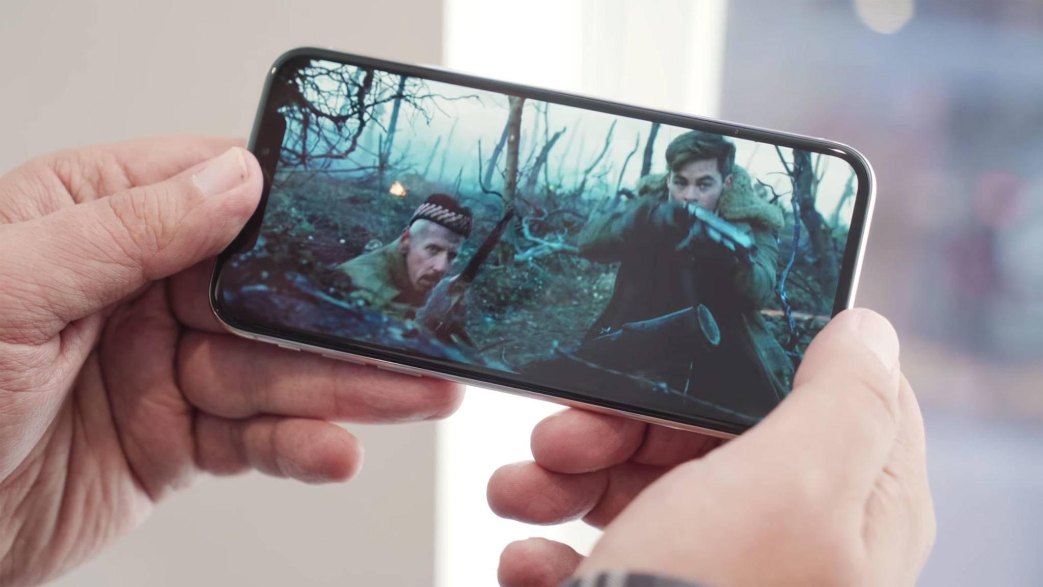 Mit HEVC werden Videos auf dem iPhone deutlich effizienter komprimiert.