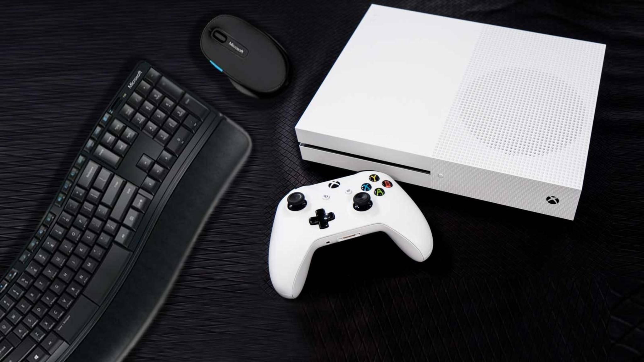 Xbox One Maus Tastatur