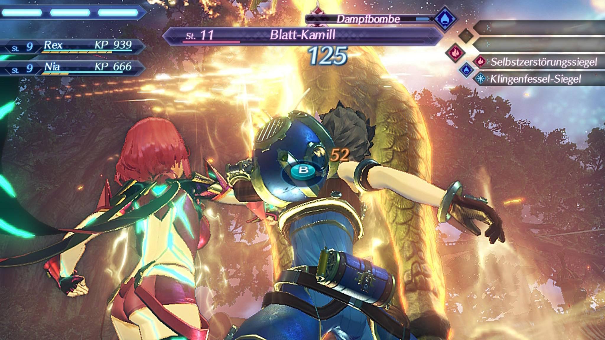 """""""Xenoblade Chronicles 2"""" fährt ein etwas kniffliges Kampfsystem auf ..."""