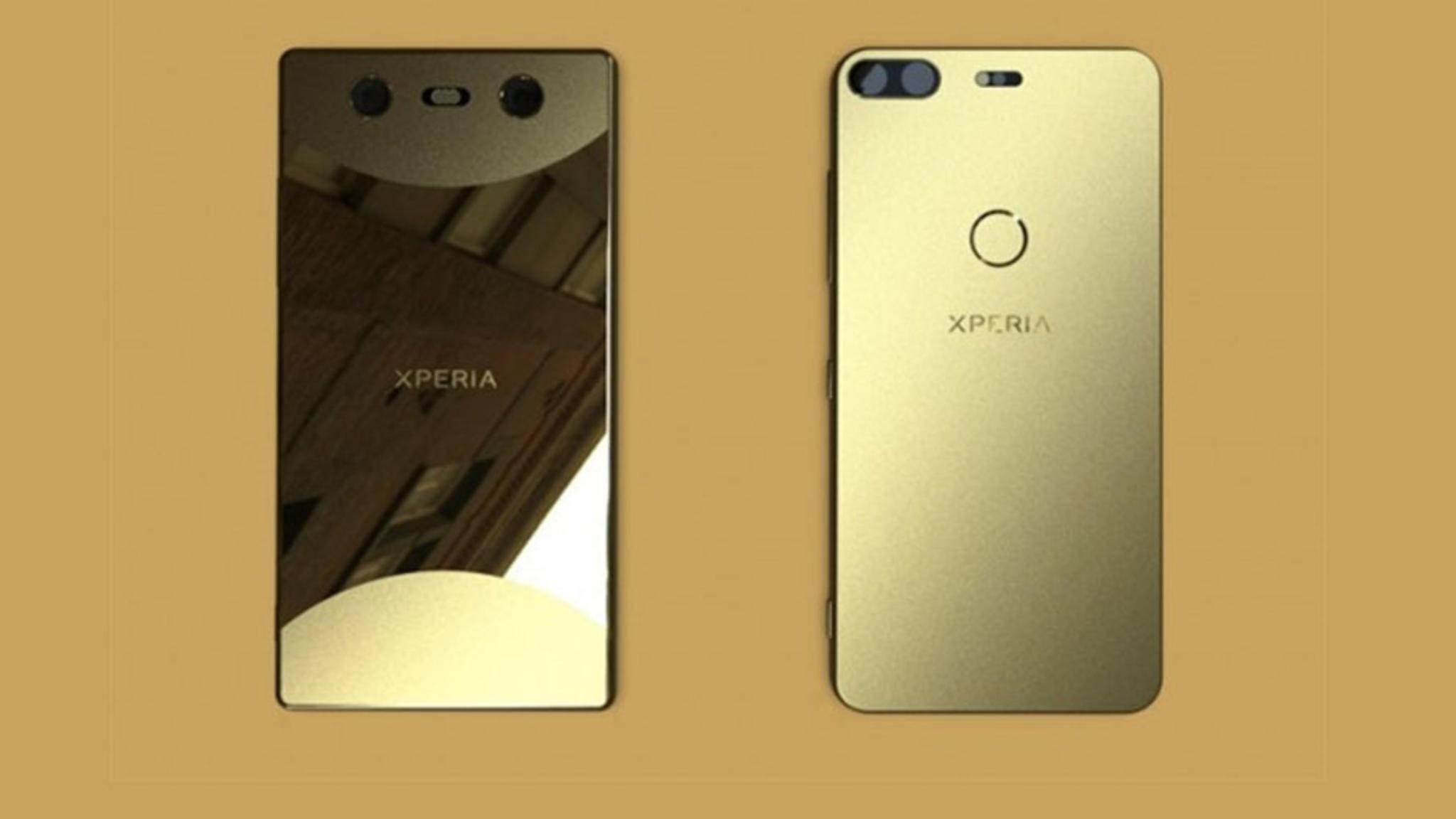 Das glänzende Sony Xperia 2018 könnte über eine interessante Dual-Kamera verfügen.
