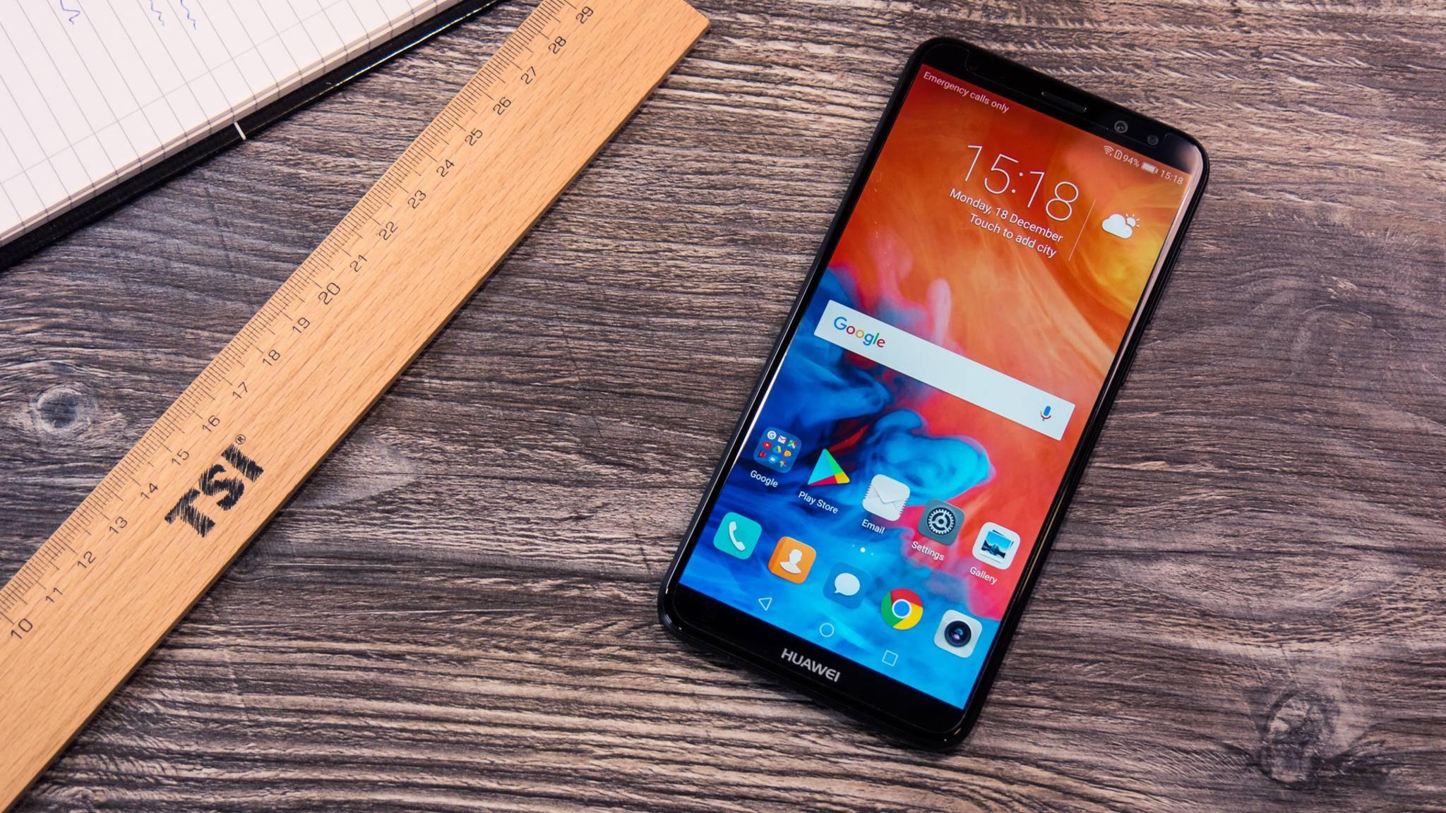 Das Huawei Mate 10 Lite möchte eine günstigere Alternative zum Flaggschiff Mate 10 Plus darstellen.